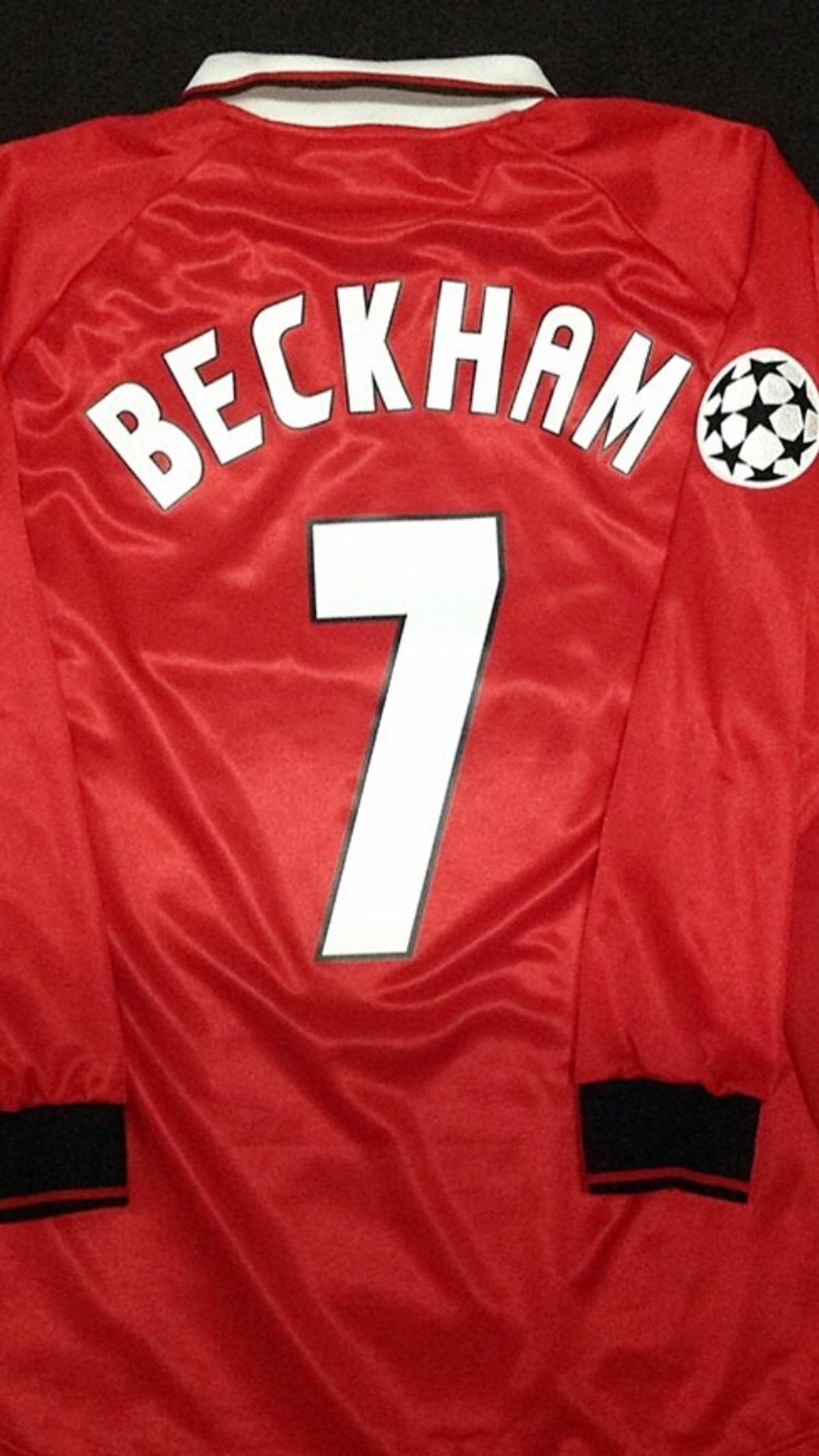 Rare Vintage Manchester United Ucl 1999 Shirt