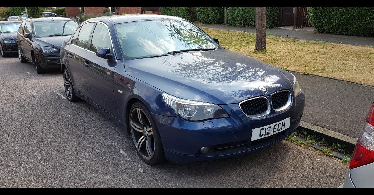 Bmw 525i Manual Full Service History In Sw18 Wandsworth For