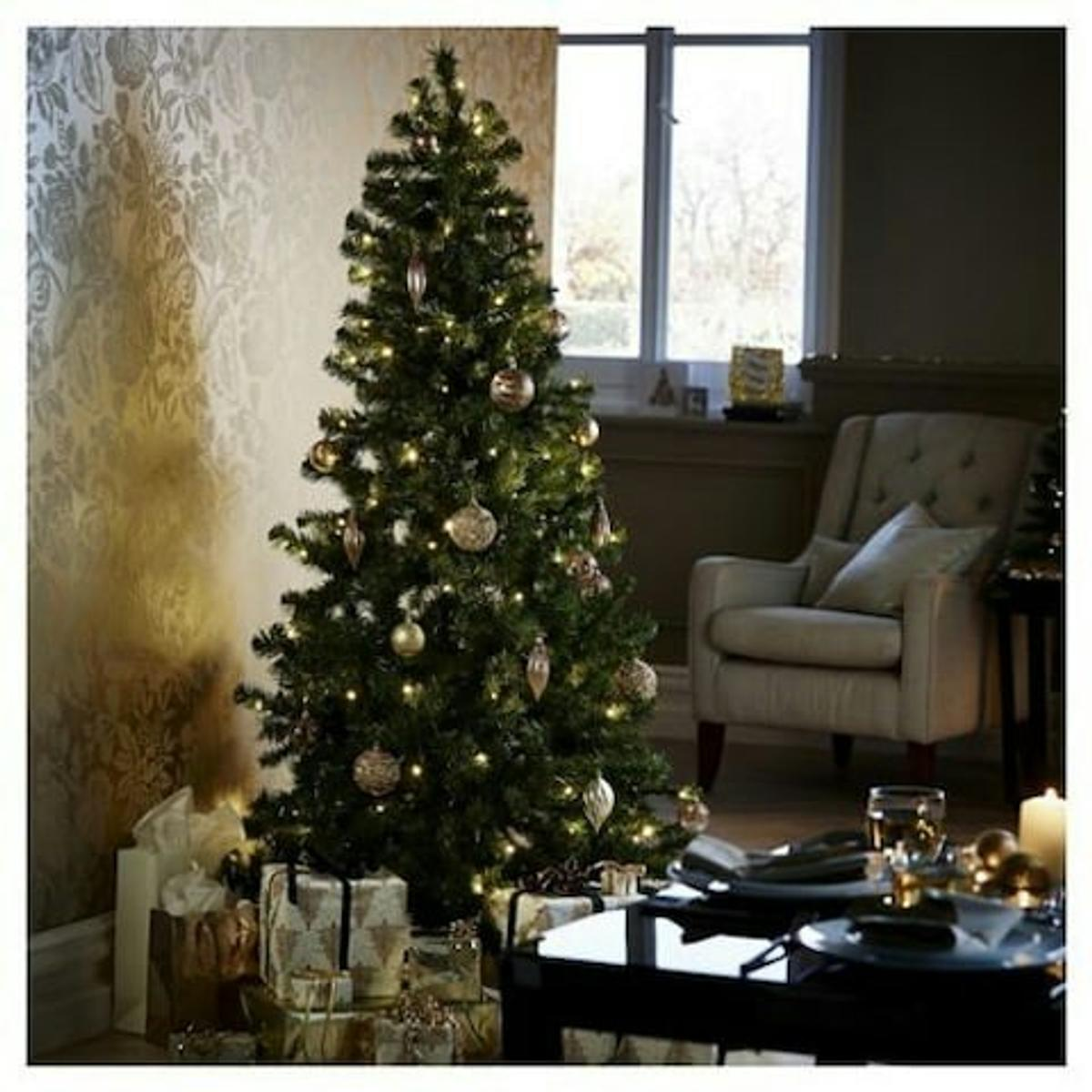 best loved 395f2 0900a 7ft Alpine Christmas tree Tesco Finest in ST1-Trent for ...