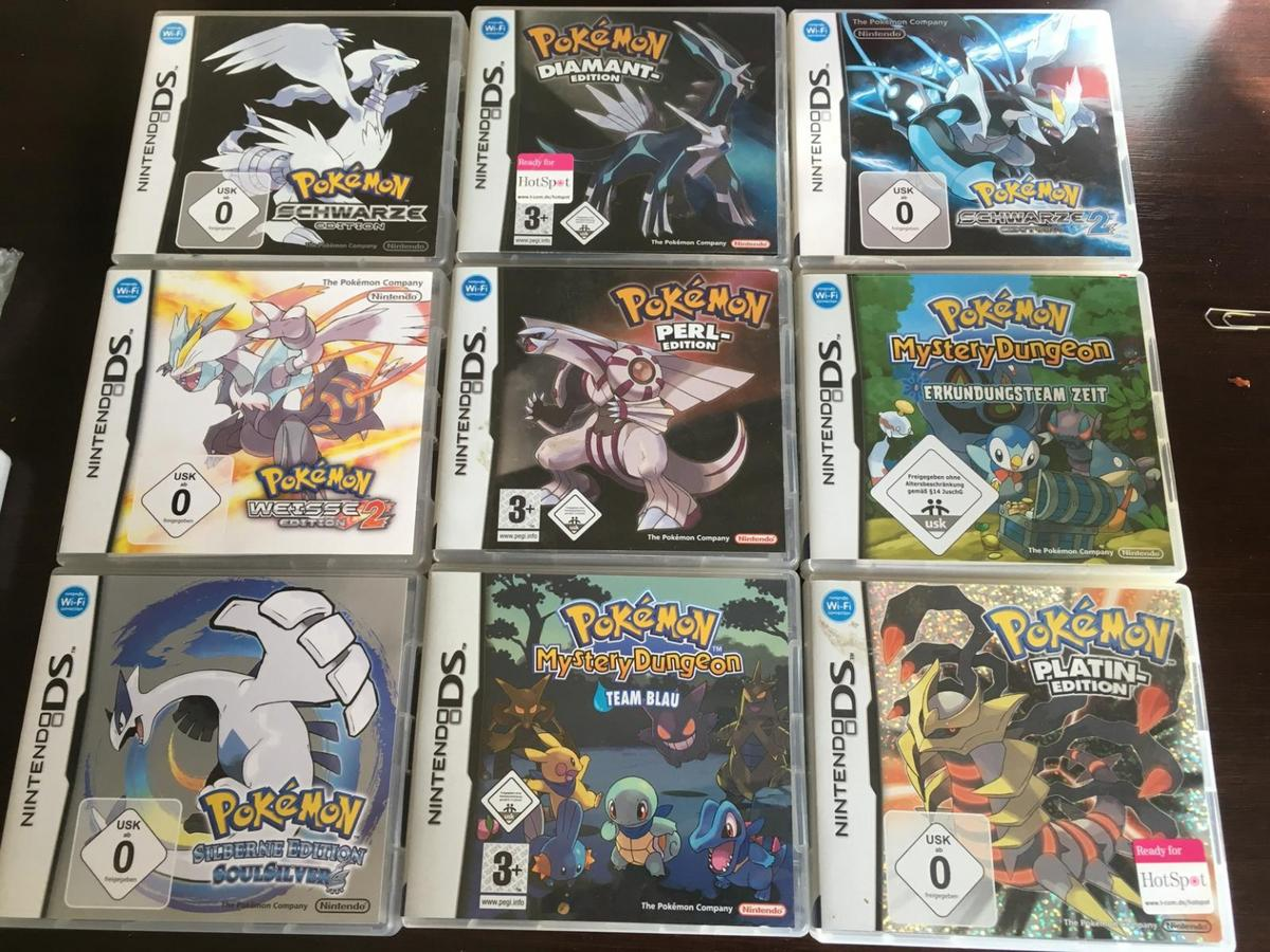 Nintendo Ds Spiele Pokemon Platin Edition U A In 95028 Hof For 1 00 For Sale Shpock