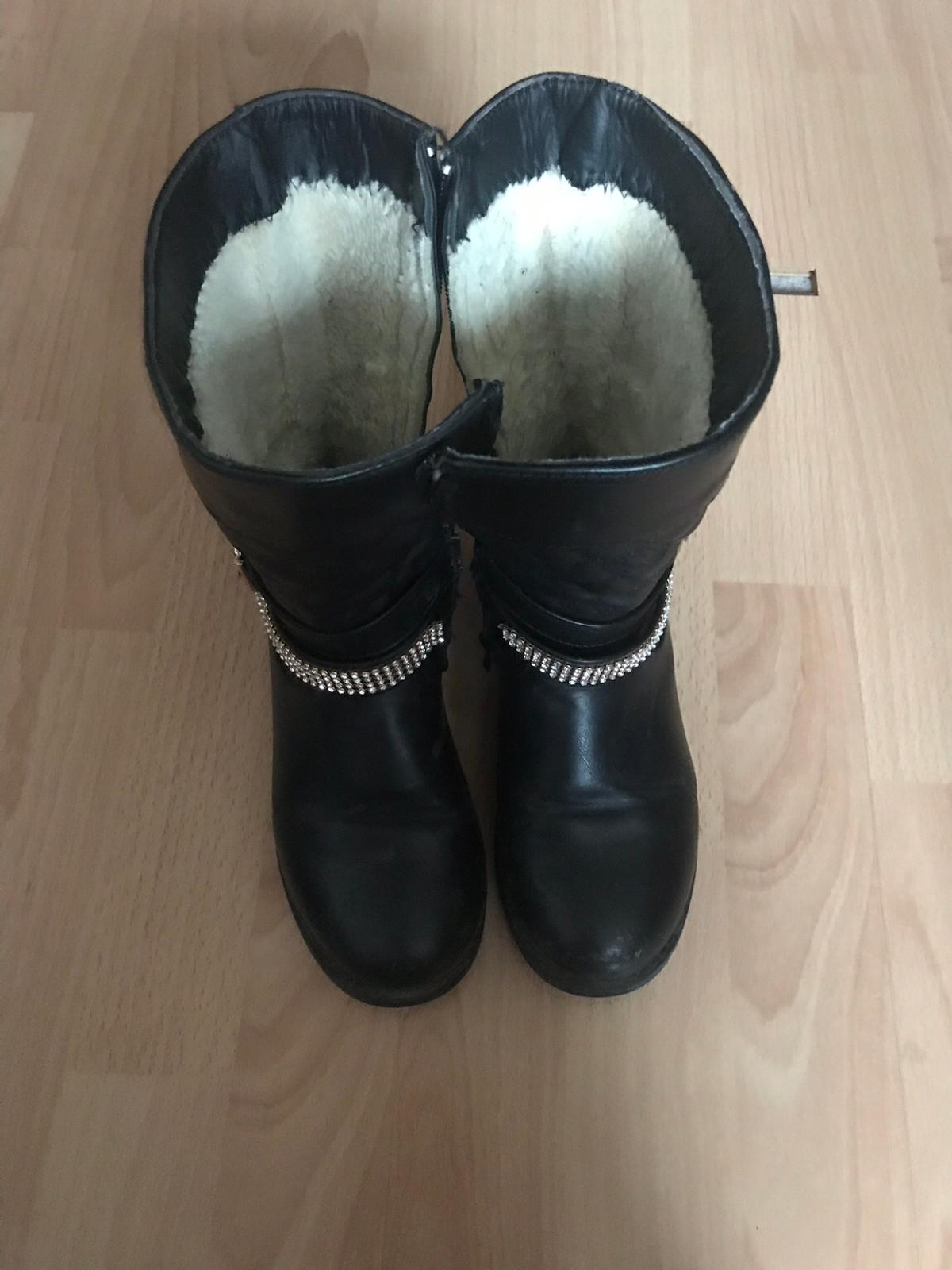 low priced 404e6 363aa Mädchen Stiefel Gr. 32