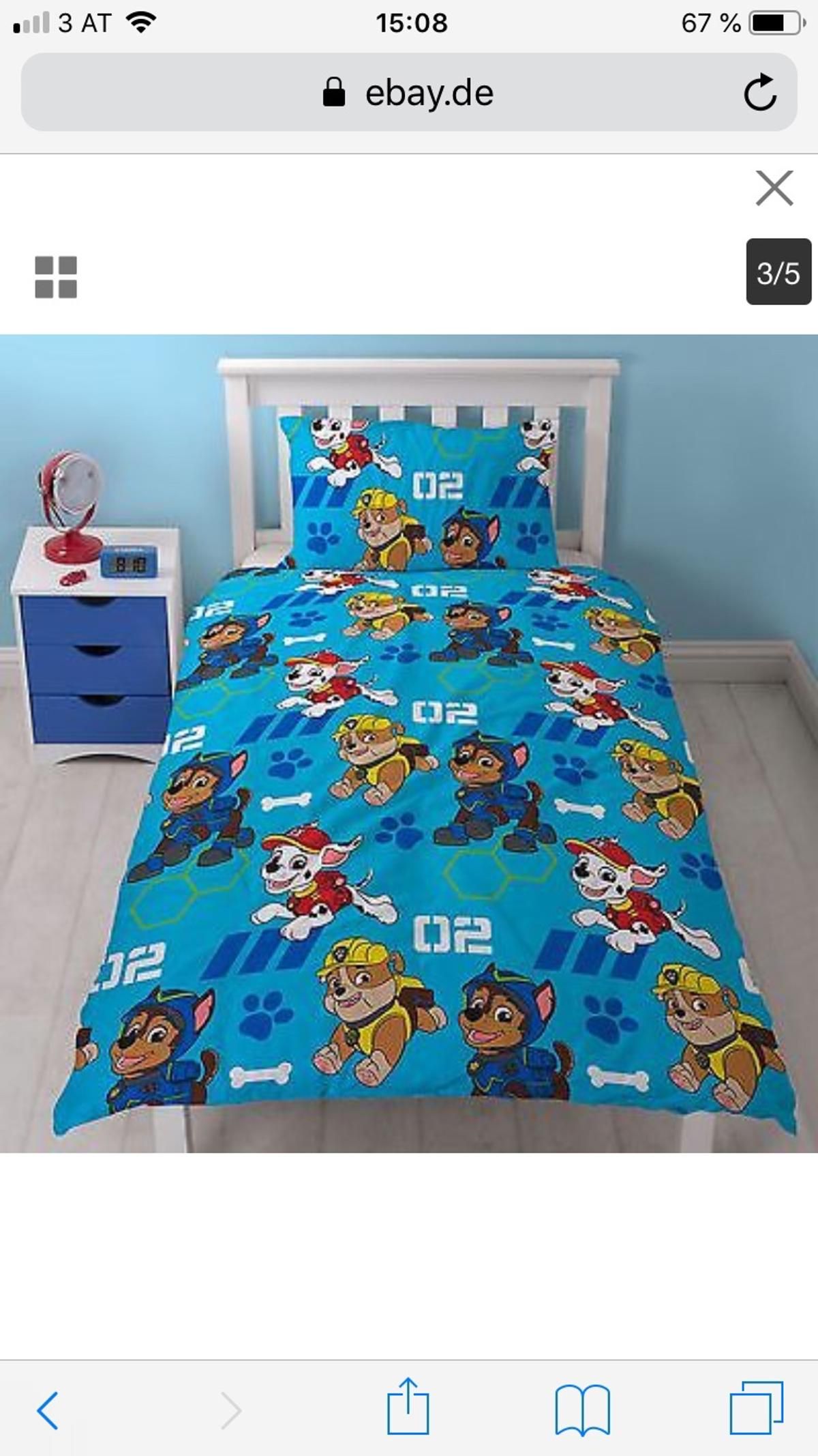 Paw Patrol Bettwäsche In 3580 Horn For 1200 For Sale Shpock