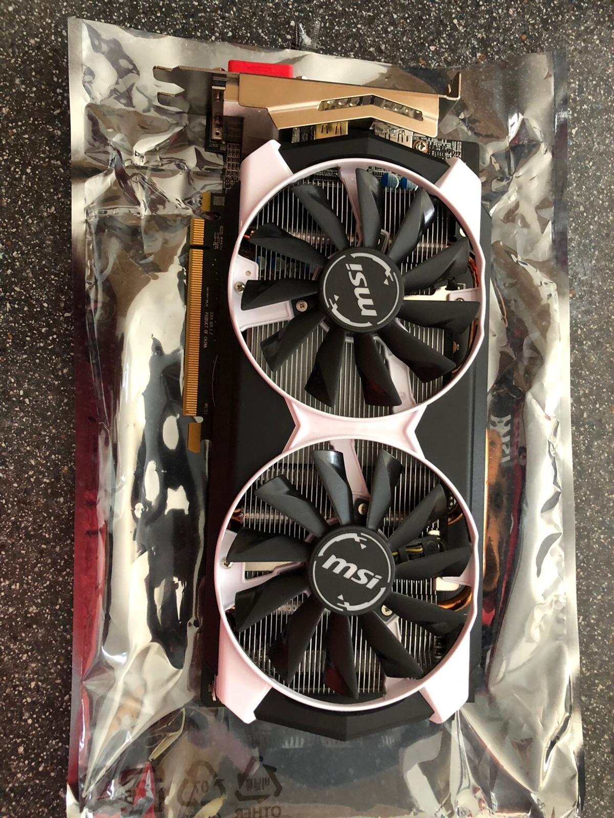 MSI AMD Radeon R9 380 2GB in E16 Newham for £60 00 for sale - Shpock