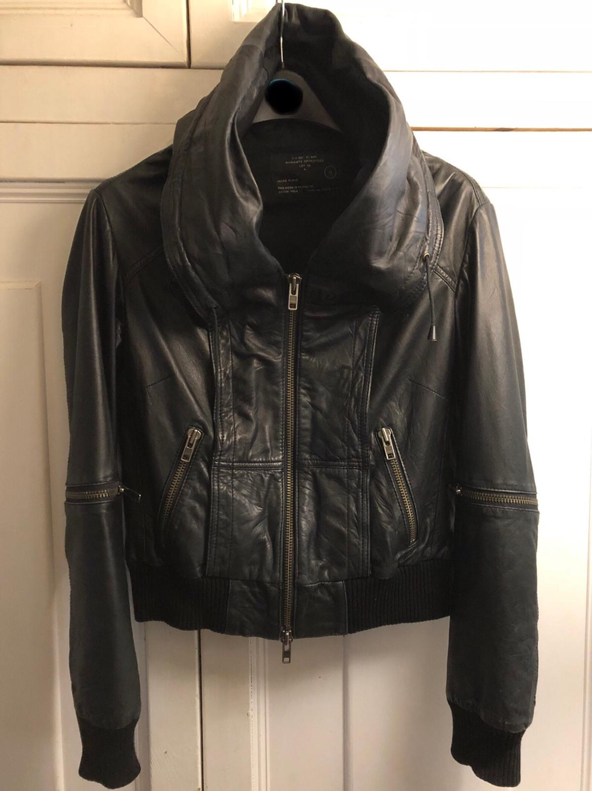 559c0a88a All Saints RARE Black Leather Cobra Jacket 12 in SW6 Fulham for ...