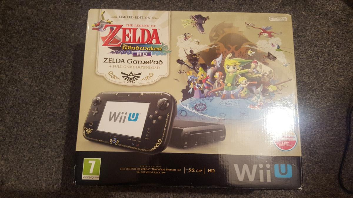 9588eac6cdf LIMITED EDITION ZELDA WII U PREMIUM PACK in Hinckley and Bosworth for  £150.00 for sale - Shpock