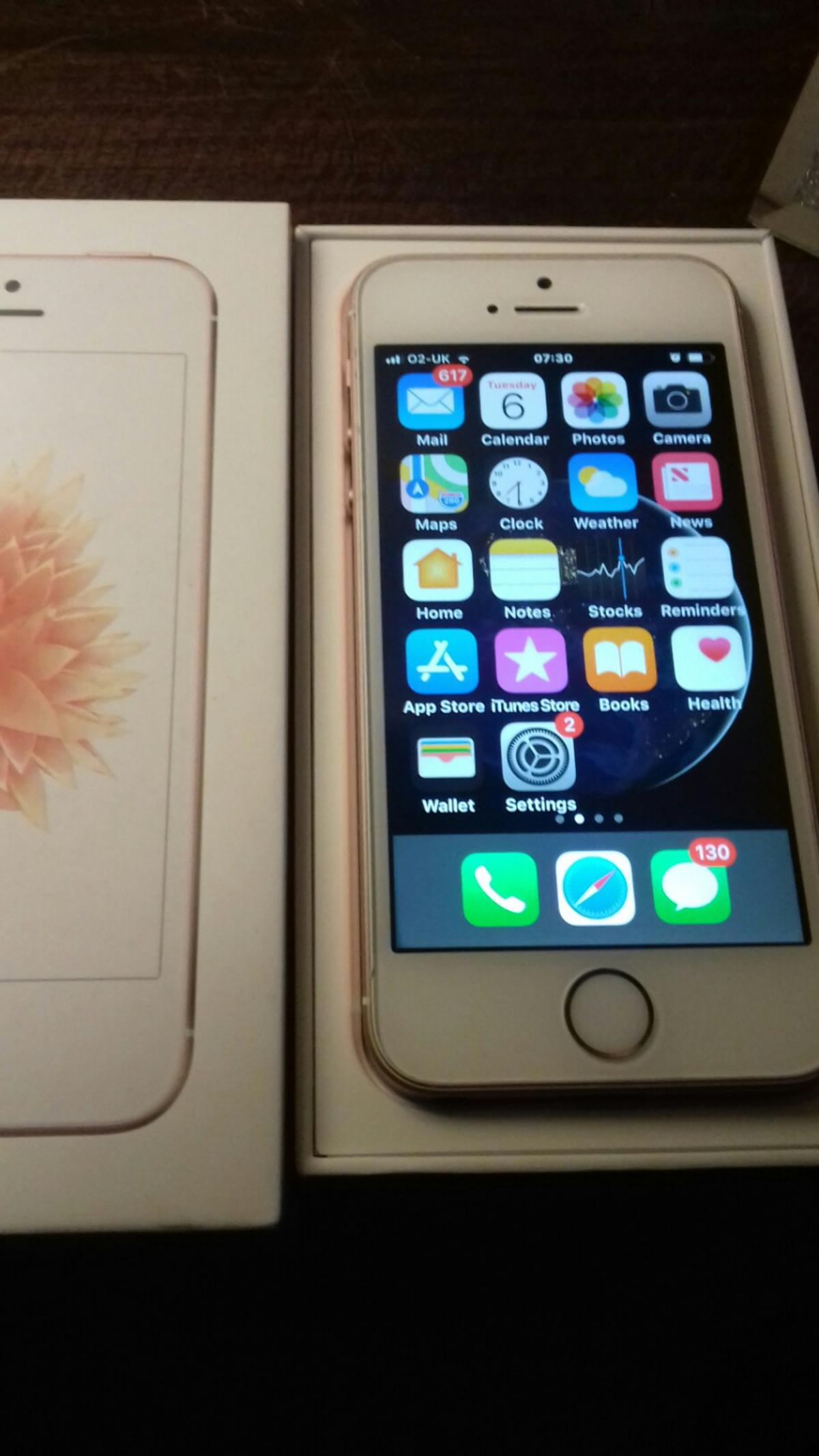Iphone se rose gold excellent condition  in Marske-by-the