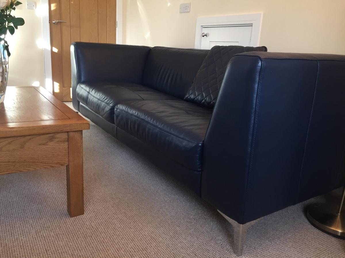 Fantastic Scene 3 Seater Leather Sofa In Kings Lynn And West Norfolk Pabps2019 Chair Design Images Pabps2019Com
