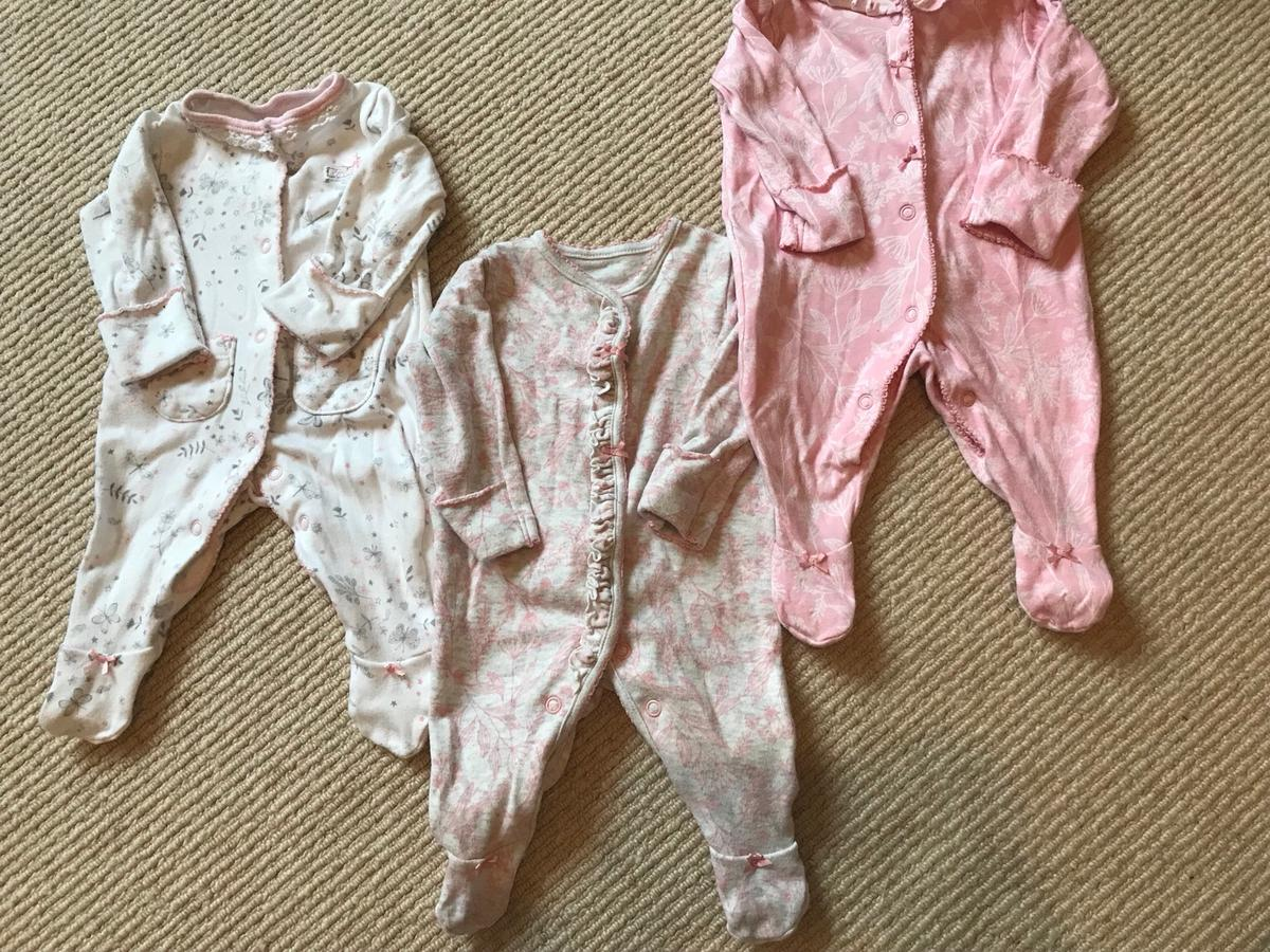 Clothing, Shoes & Accessories Baby Girl Baby Grows Firstsize