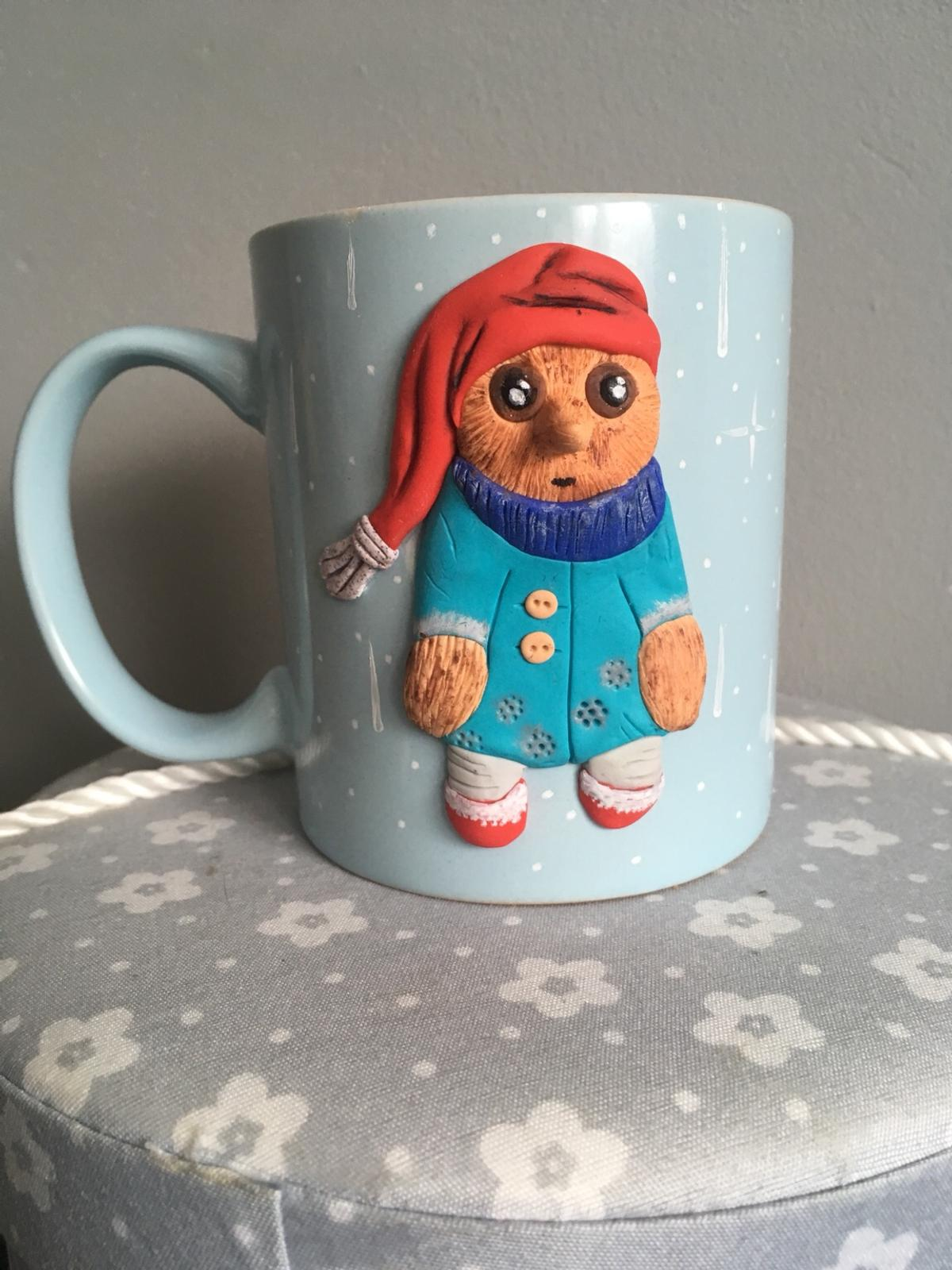 Polymer Clay Christmas Tea Cup In Me15 Maidstone For 15 00 For Sale Shpock