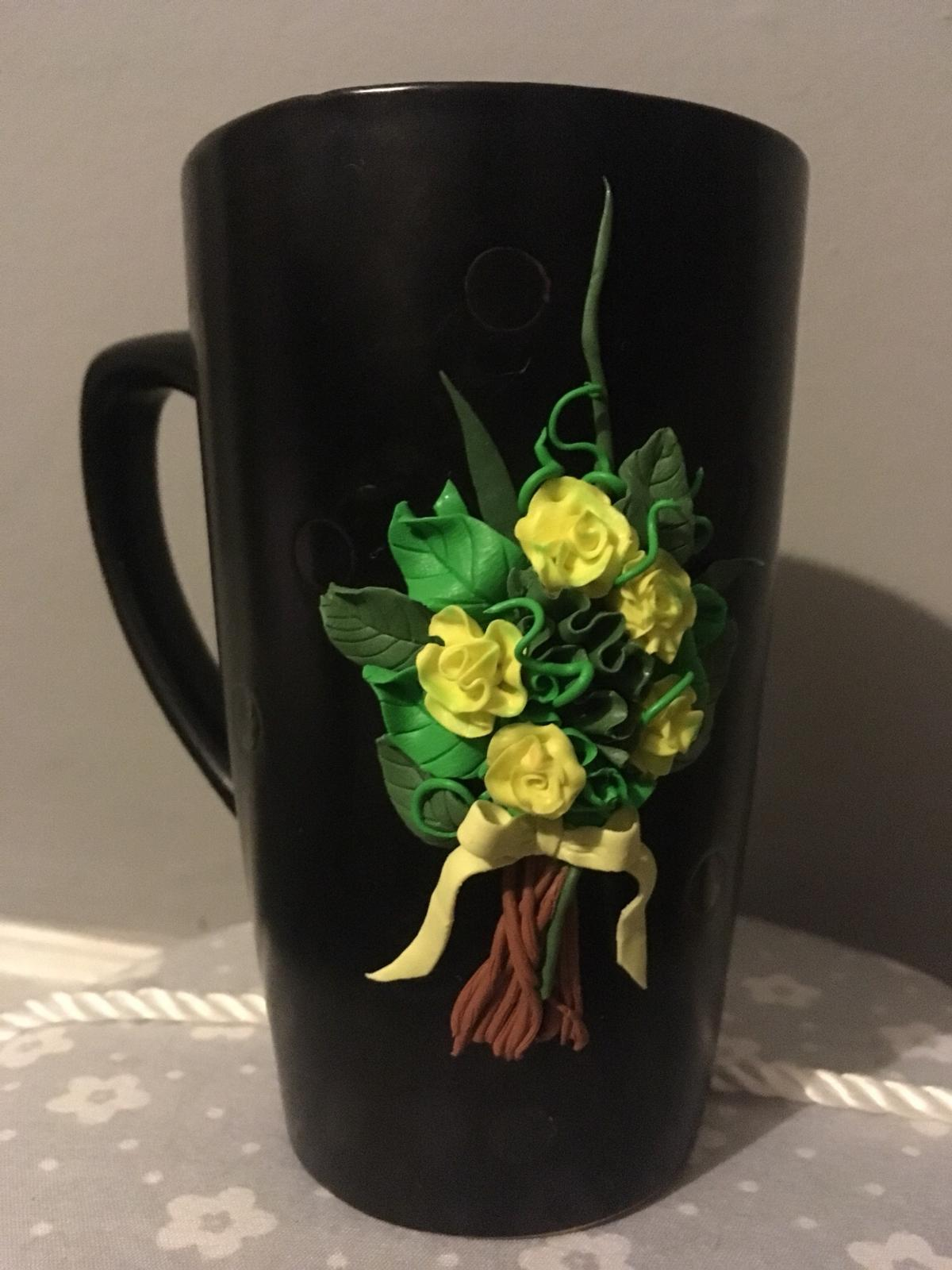 Polymer Clay Flowers Cup In Me15 Maidstone For 15 00 For Sale Shpock