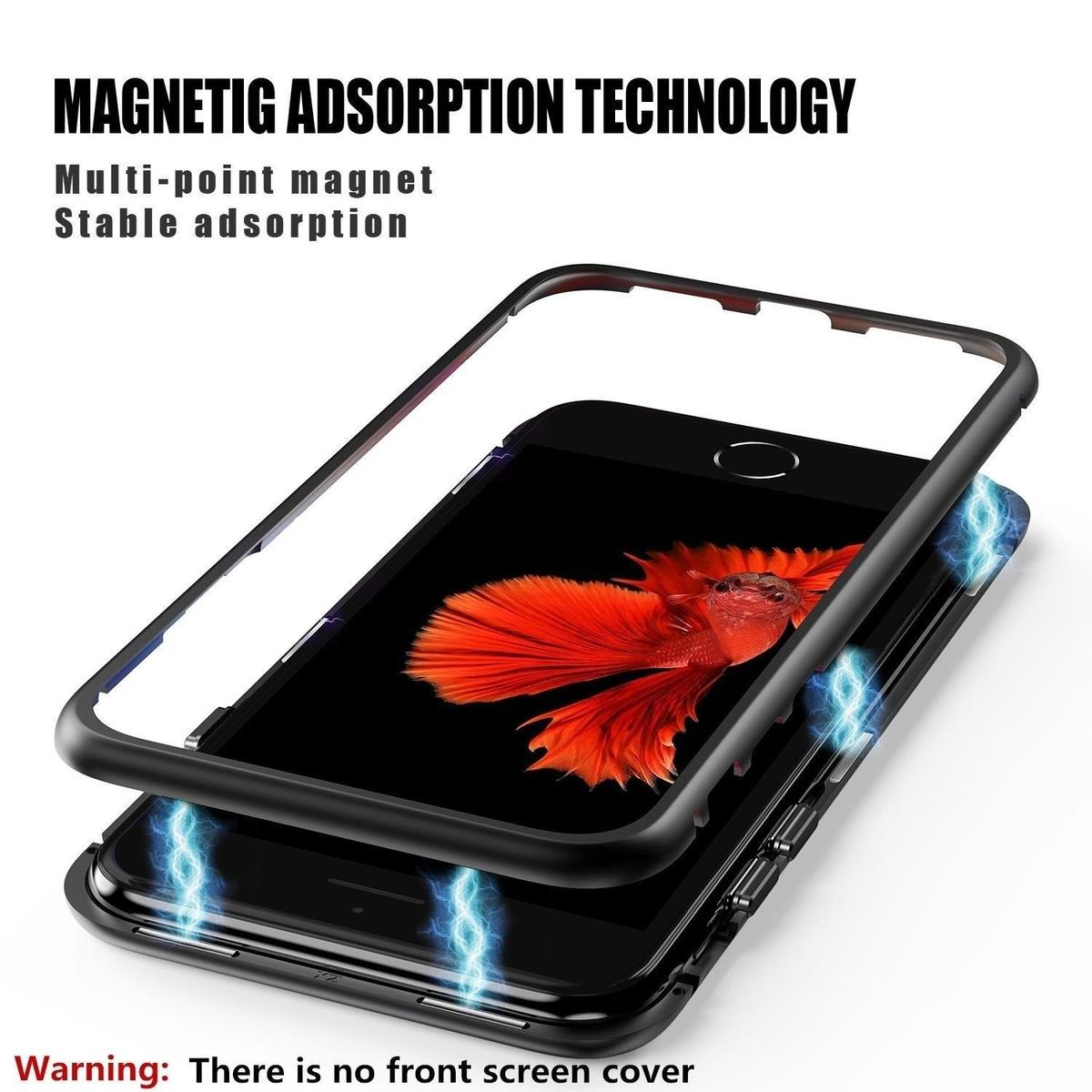 iphone 7 plus case iphone 8 plus case zhike magnetic adsorption