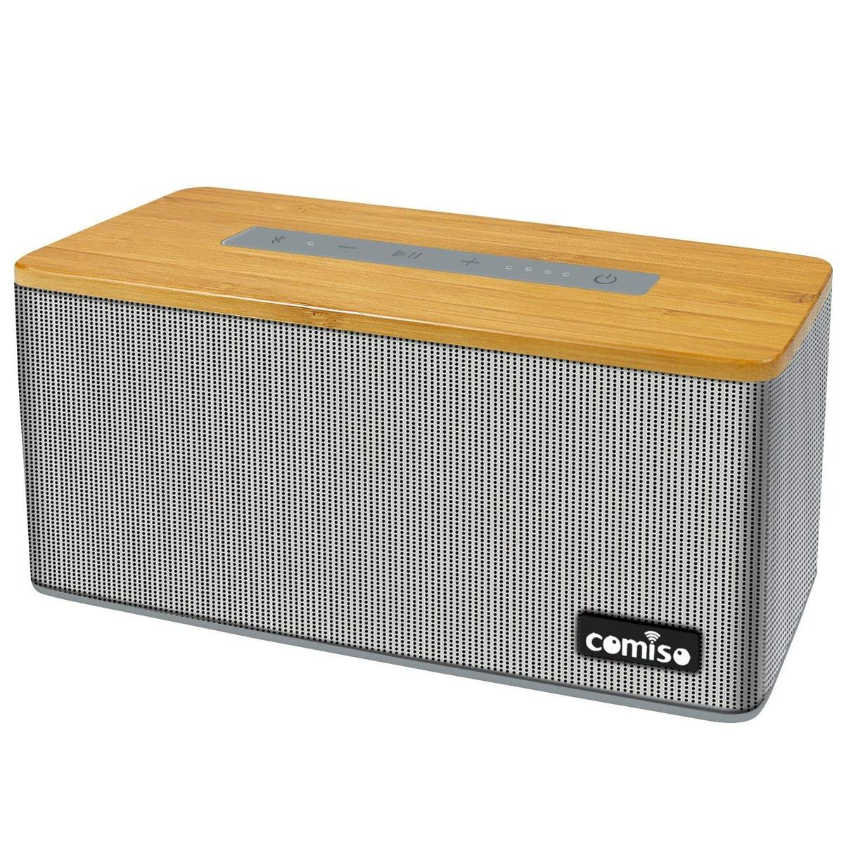 NEW Bluetooth Speaker, Bamboo Wood RPR40
