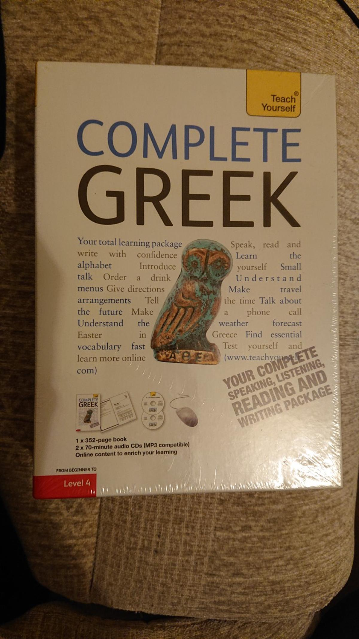 Teach yourself Greek package