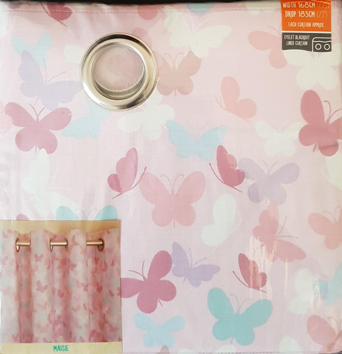 Brand New Kids Pink Blackout Eyelet Curtains In M12 Manchester For 28 00 For Sale Shpock