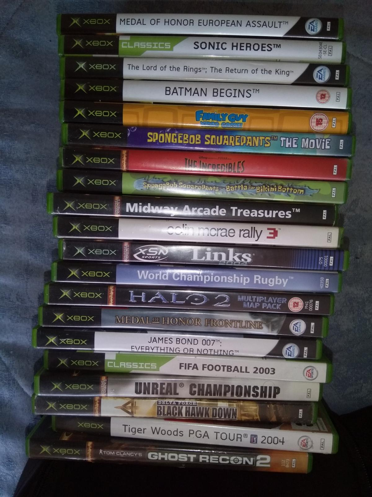 71 original xbox games in NG21 Sherwood for £65 00 for sale - Shpock