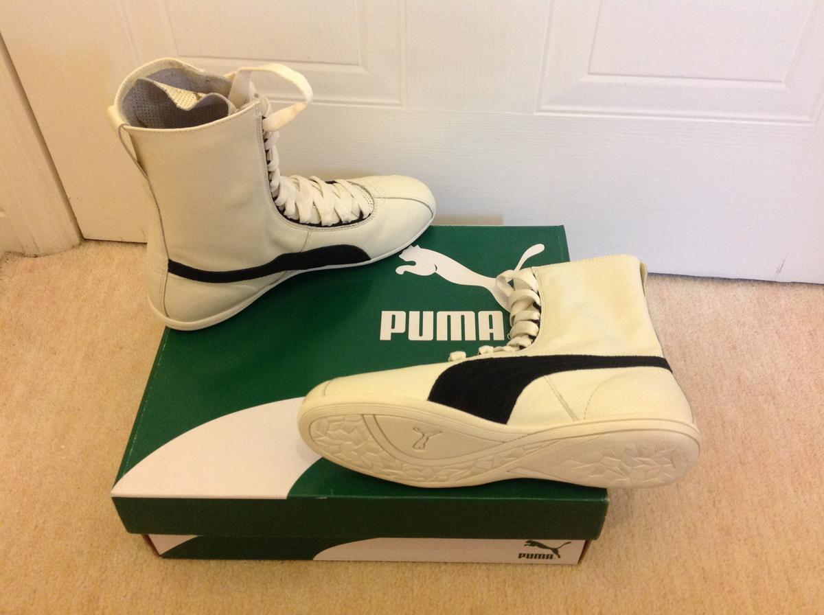 Size: UK Colour : WhiteBlack Ladies 6 Puma Eskiva Hi Boots