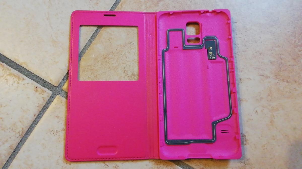 cover samsung s5 rosa