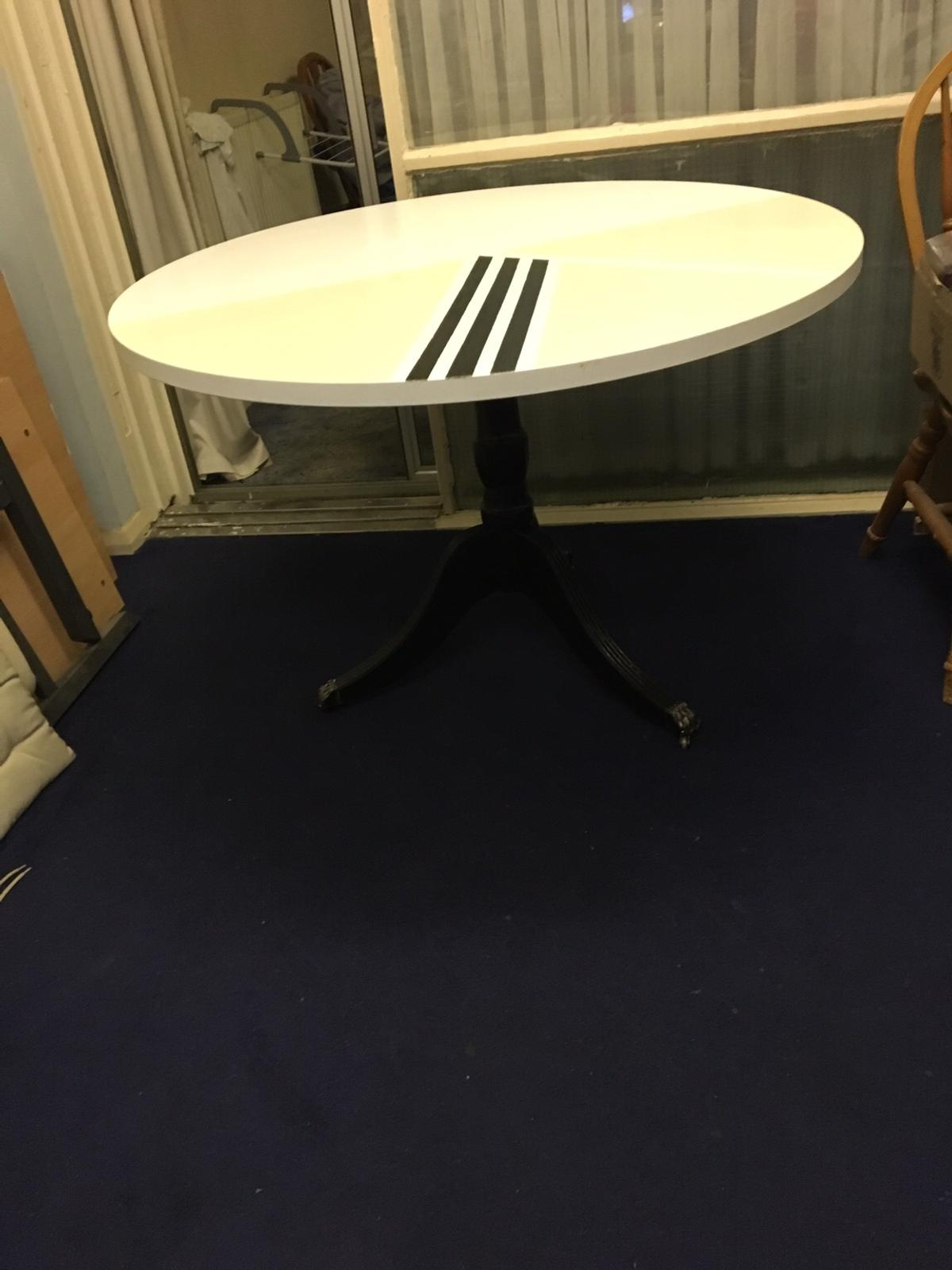 Fantastic Up Cycled Round Dining Table In Tw47Bx Middlesex For 80 00 Interior Design Ideas Tzicisoteloinfo