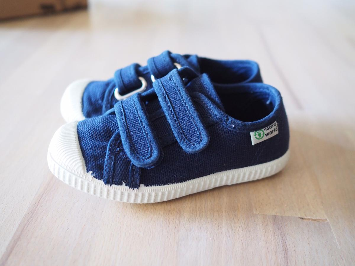 Kinderschuhe Gr 25 Blau Natural Wonder