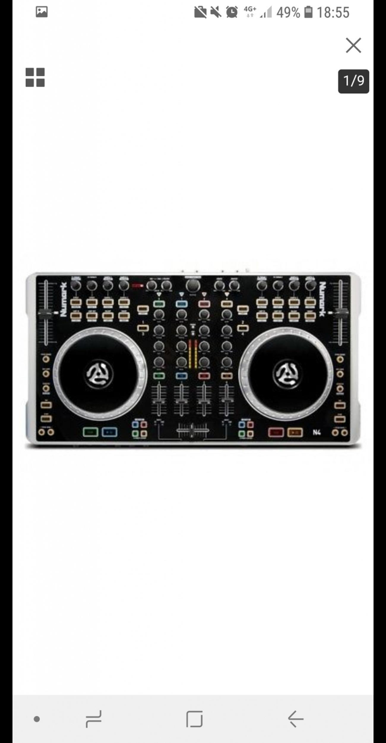 Numark N4 4-Channel DJ Controller / Mixer in E3 London for
