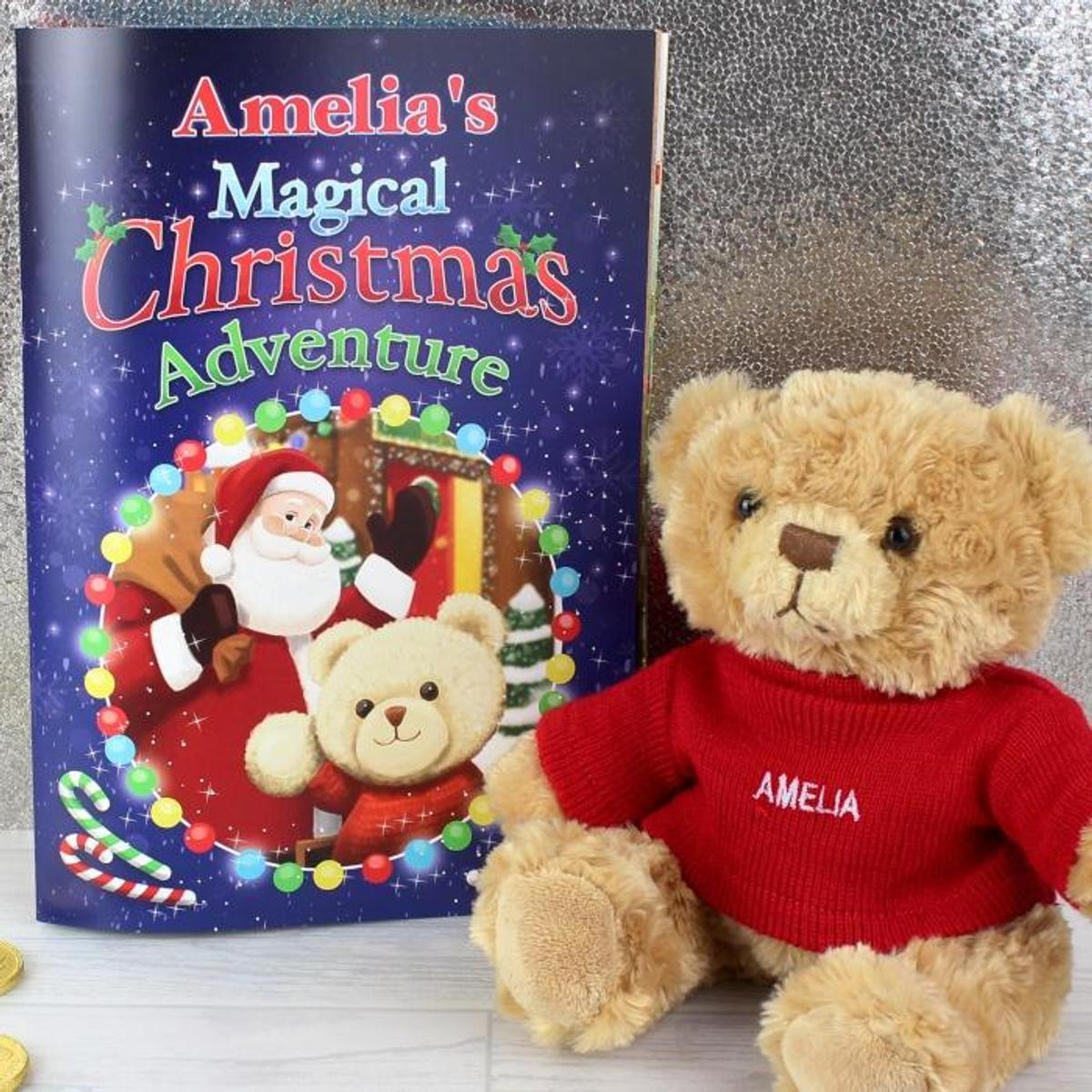 PERSONAL CHRISTMAS BOOK & TEDDY in TW4 Thames for £24 99 for