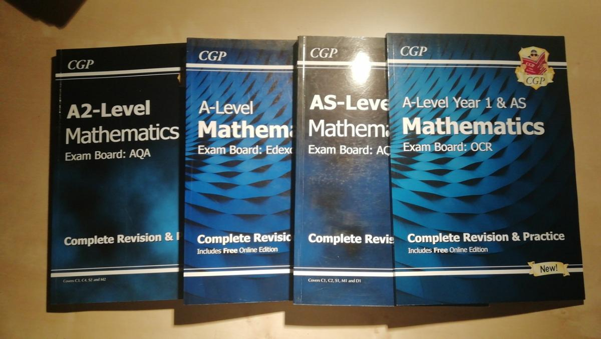 4 A-level Maths Books in BA14 Bradford on Avon for £35 00