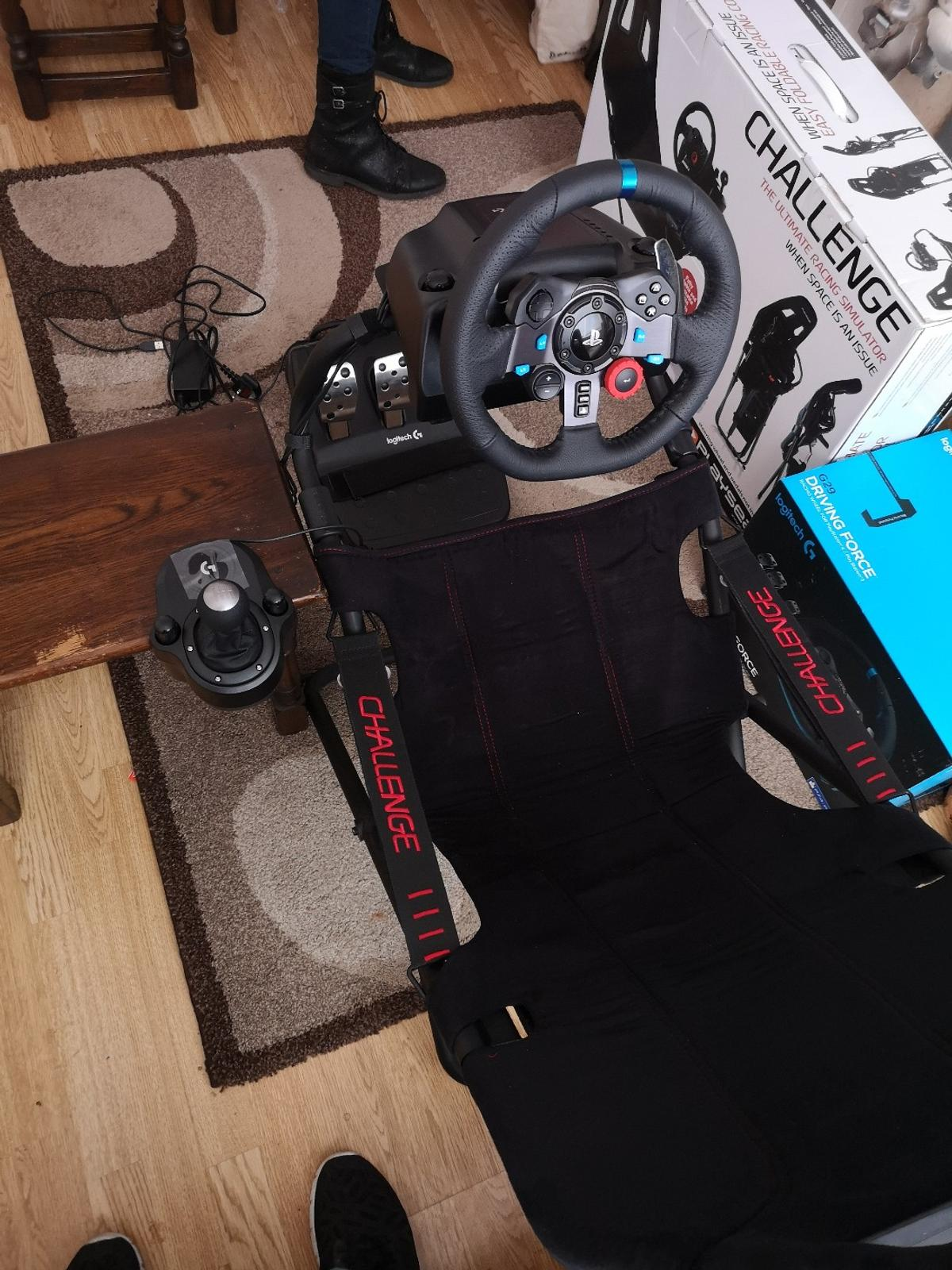 Logitech G29 PS4 Pc Wheel Playseat Challenge in DY1 Dudley