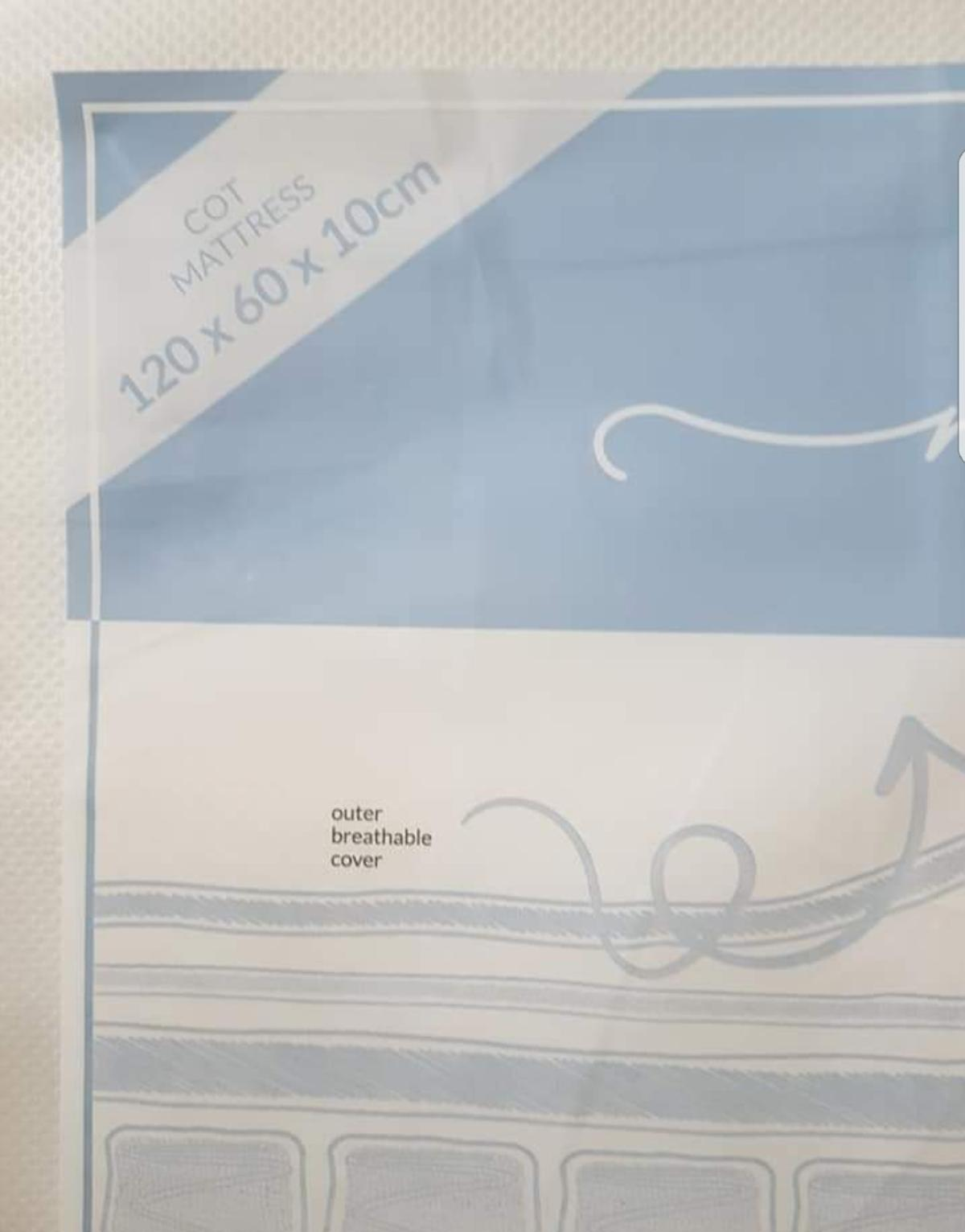 size 40 65396 a9b73 babies r us cot mattress BRAND NEW in ST5-Lyme for £40.00 ...
