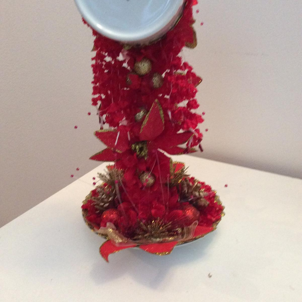 Christmas Floating Tea Cups.Floating Tea Cup Christmas Decoration In Chelmsford For