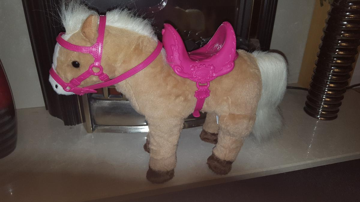 Baby Born Doll Horse Pony With Sounds New In B43 Sandwell For 7 00 For Sale Shpock