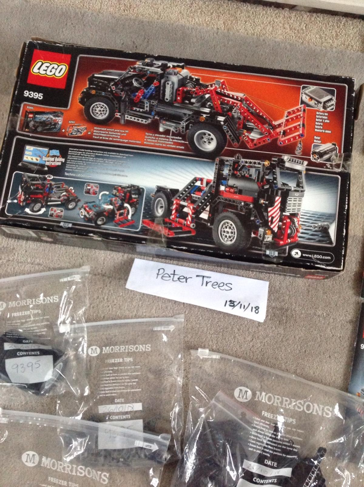 Lego Technic 9395 Fred's Garage Tow Truck in Blackwell for