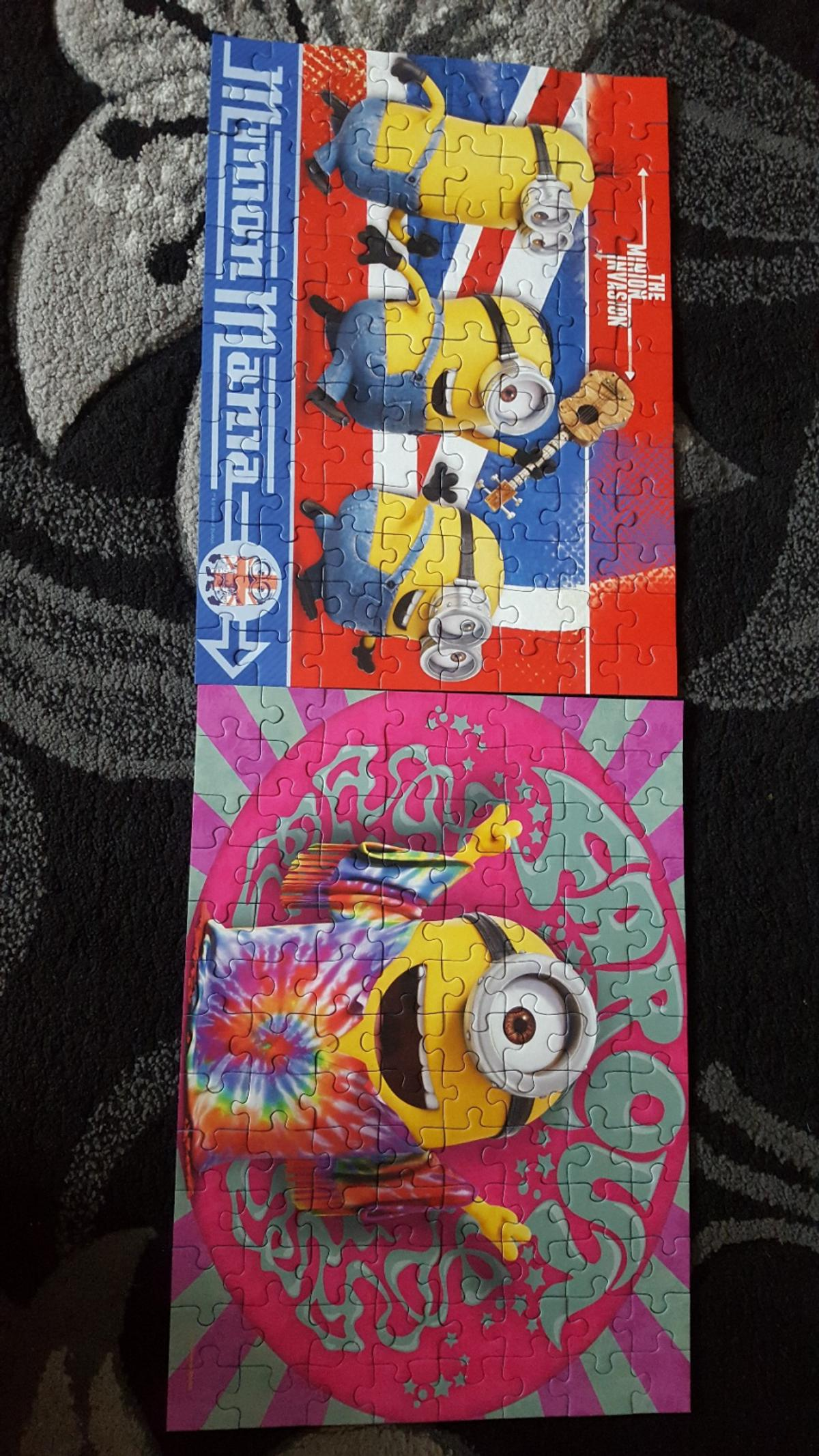 Minions 4x Jigsaw Puzzles in NG17 Ashfield for £4 50 for