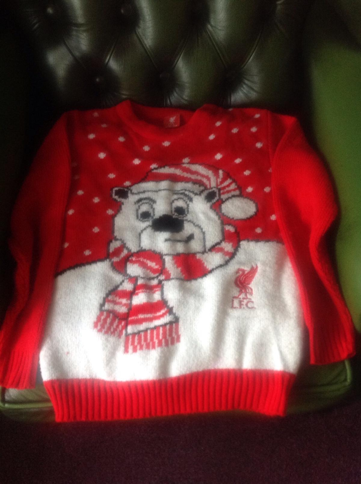 Liverpool Fc Christmas Jumper In Ch8 Walwen For 10 00 For Sale Shpock