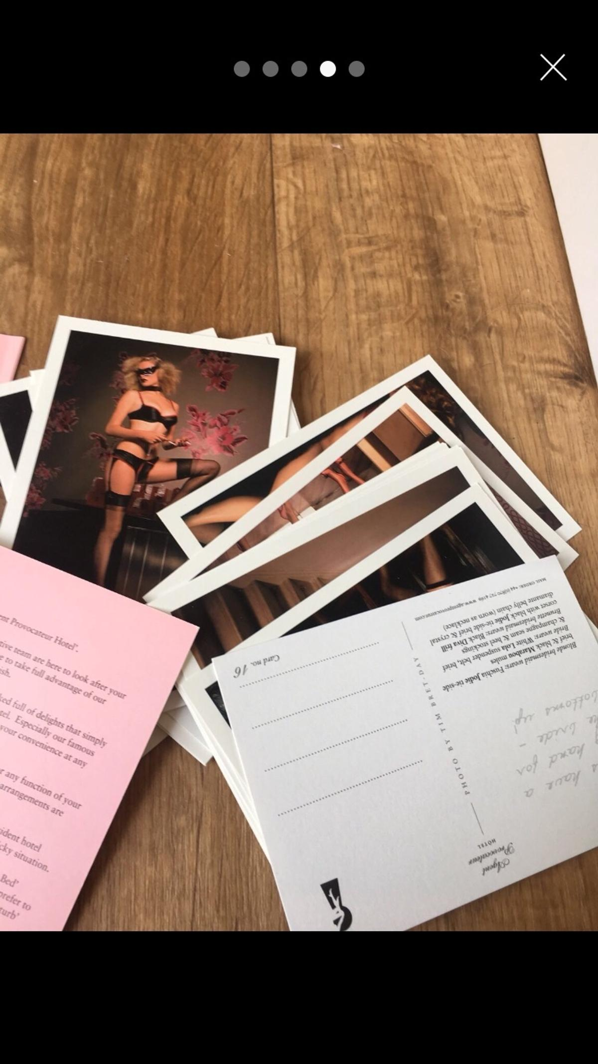 Agent provocateur hotel welcome pack in SG13 Hertfordshire