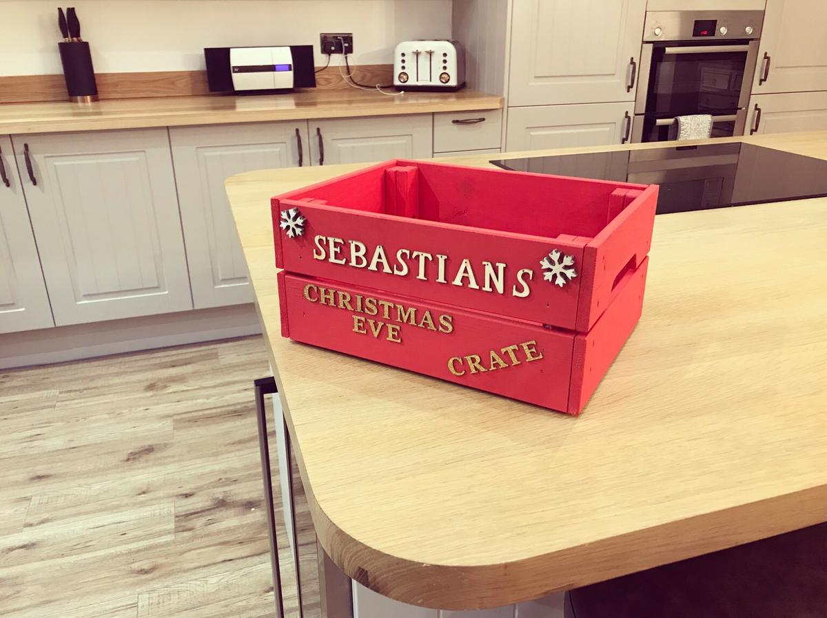 Christmas Eve Crate.Christmas Eve Crates