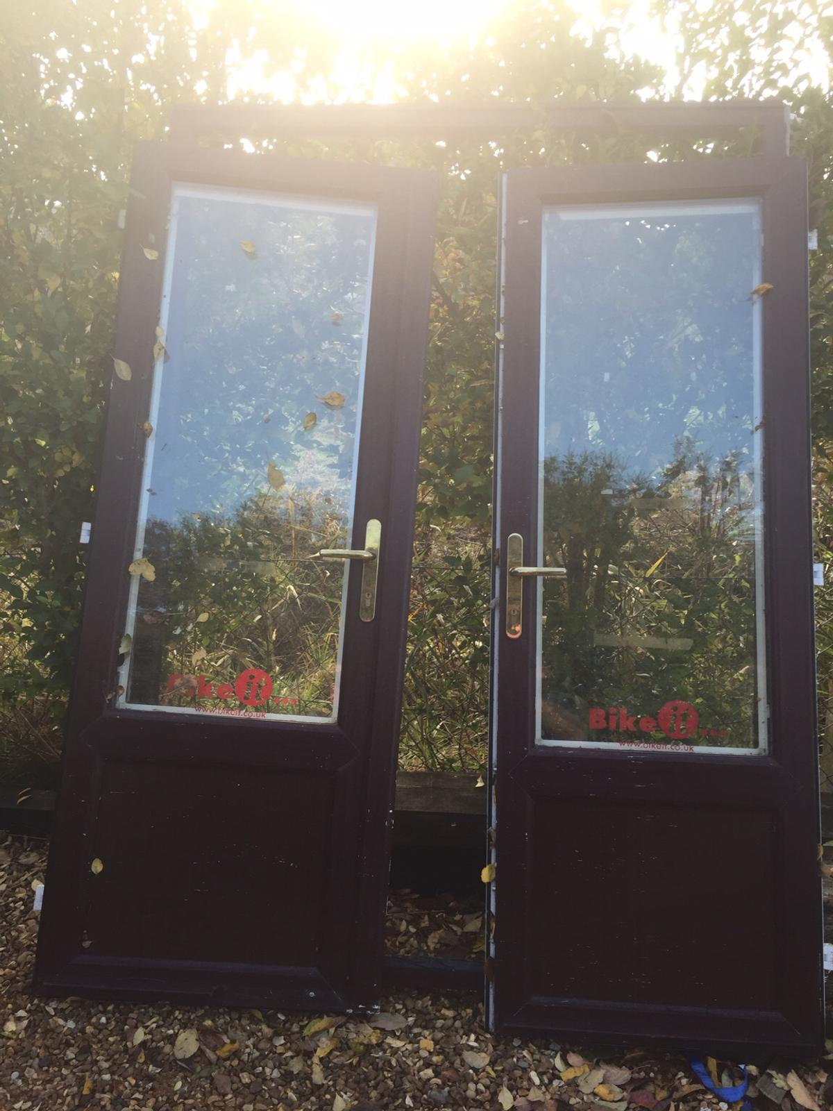 Patio Doors And Frame French Door With Key In