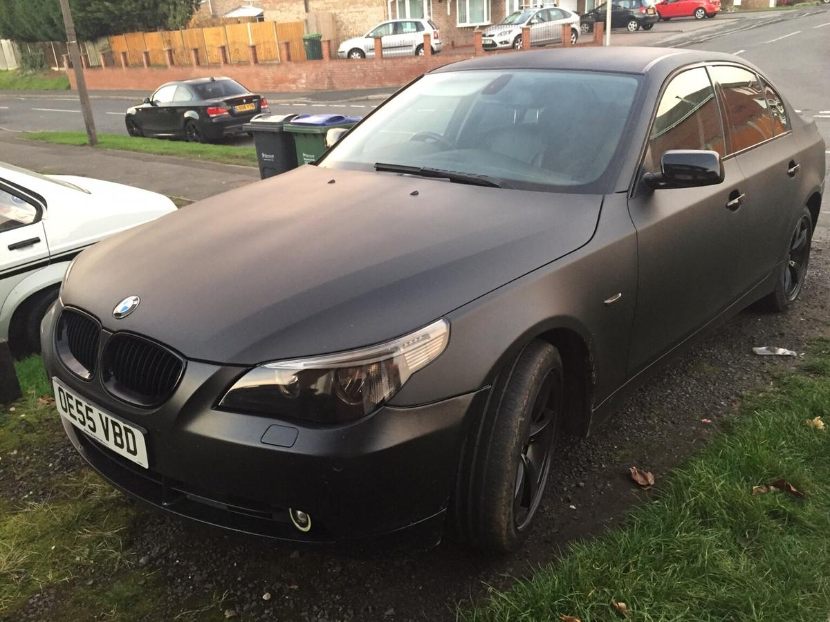 Bmw E60 520d Manual Black Matte Colour In B69 Sandwell For 2 400 00 For Sale Shpock