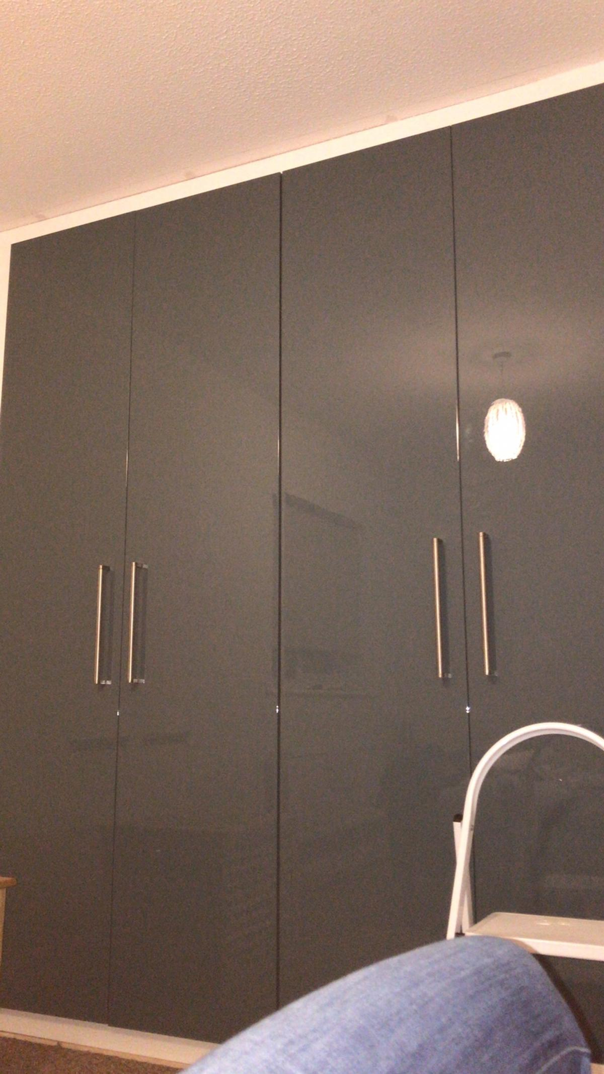 pretty nice e60e1 cf955 IKEA Fardal Doors Green 4x with handles