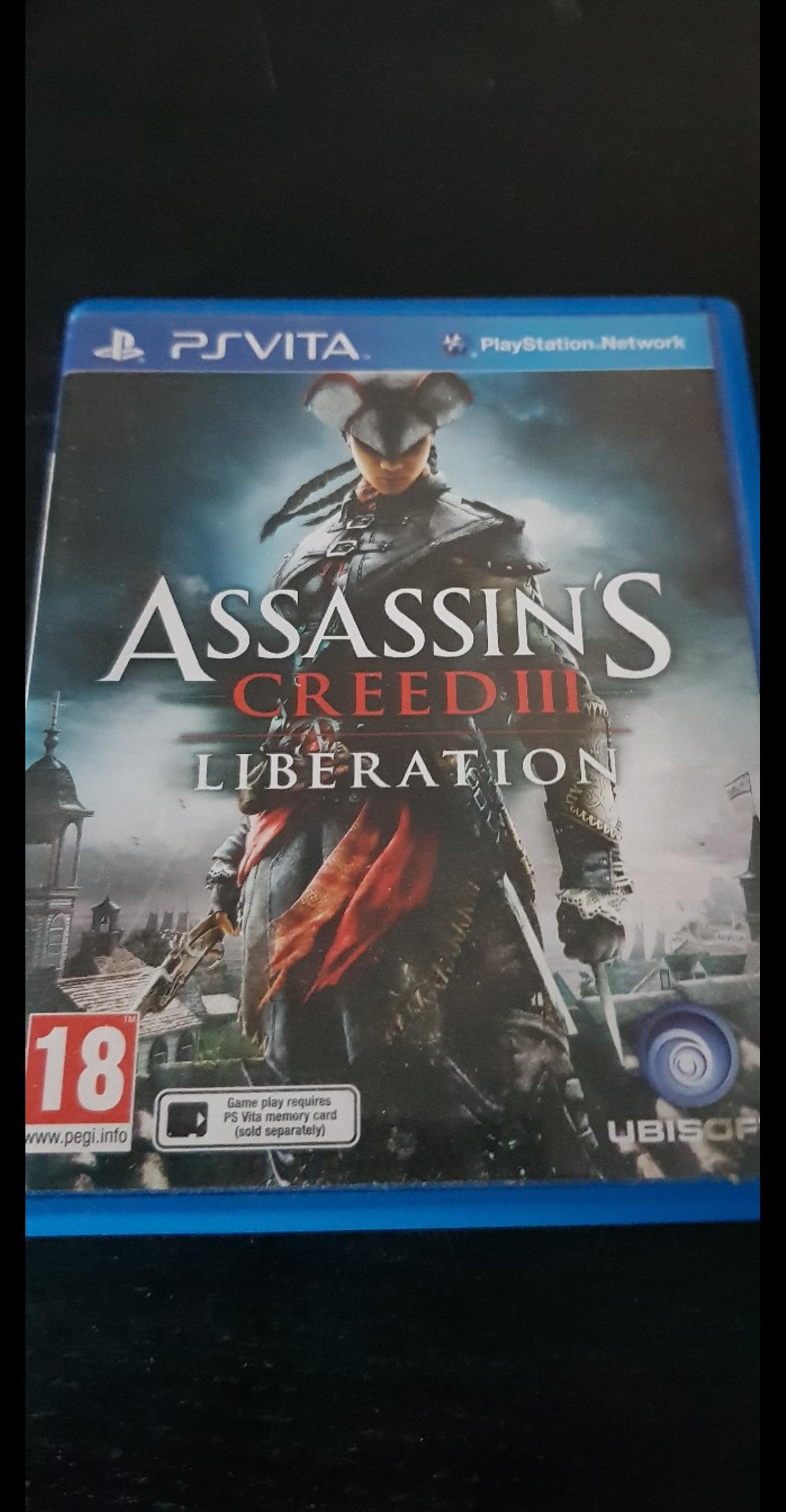 Assassins Creed Iii Liberation Ps Vita In Bh9 Village For 10 00