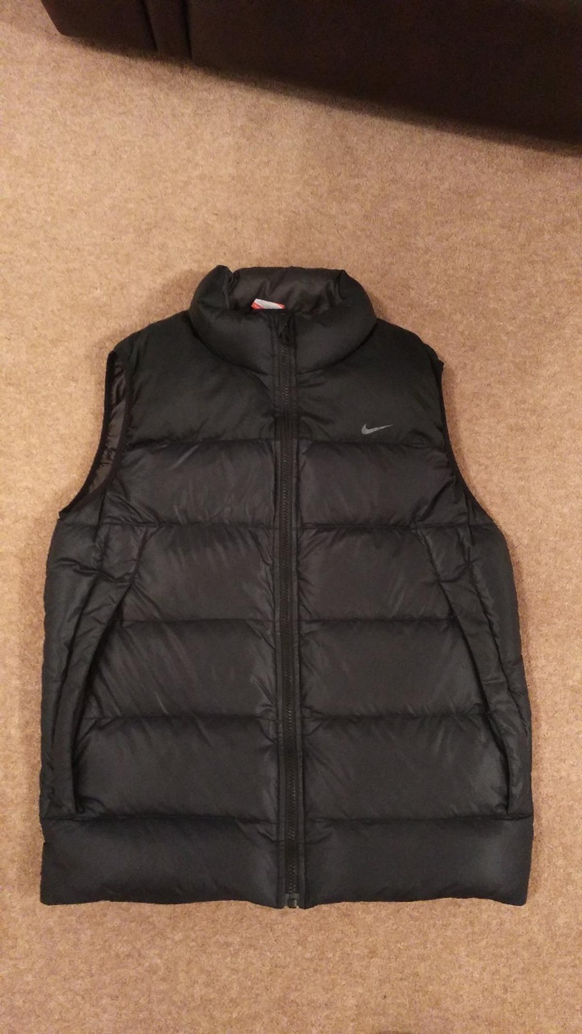nouvelle collection 49e28 69776 Nike padded gilet S
