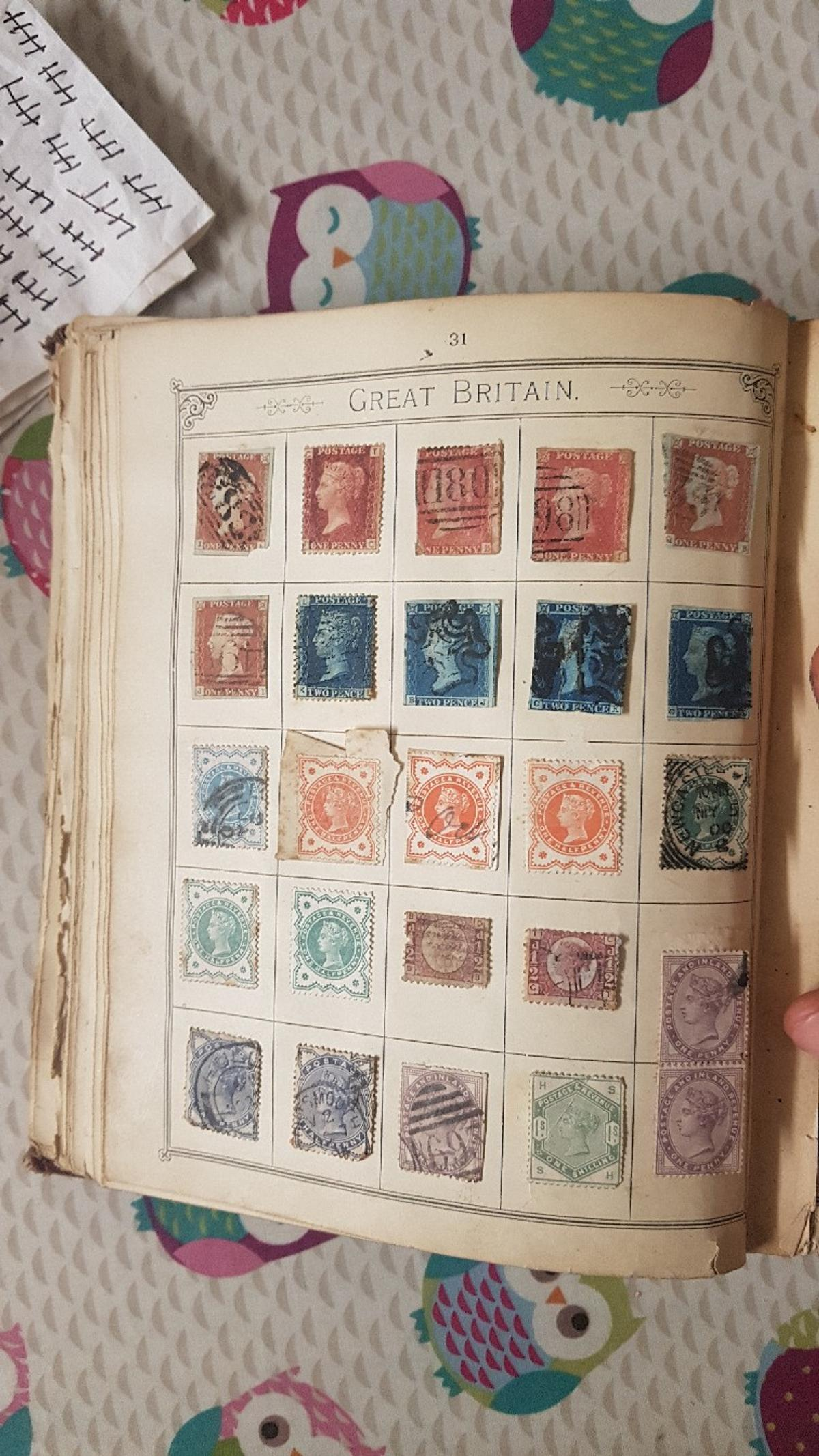 very rare stamp collection in YO12 Scarborough for £250 00