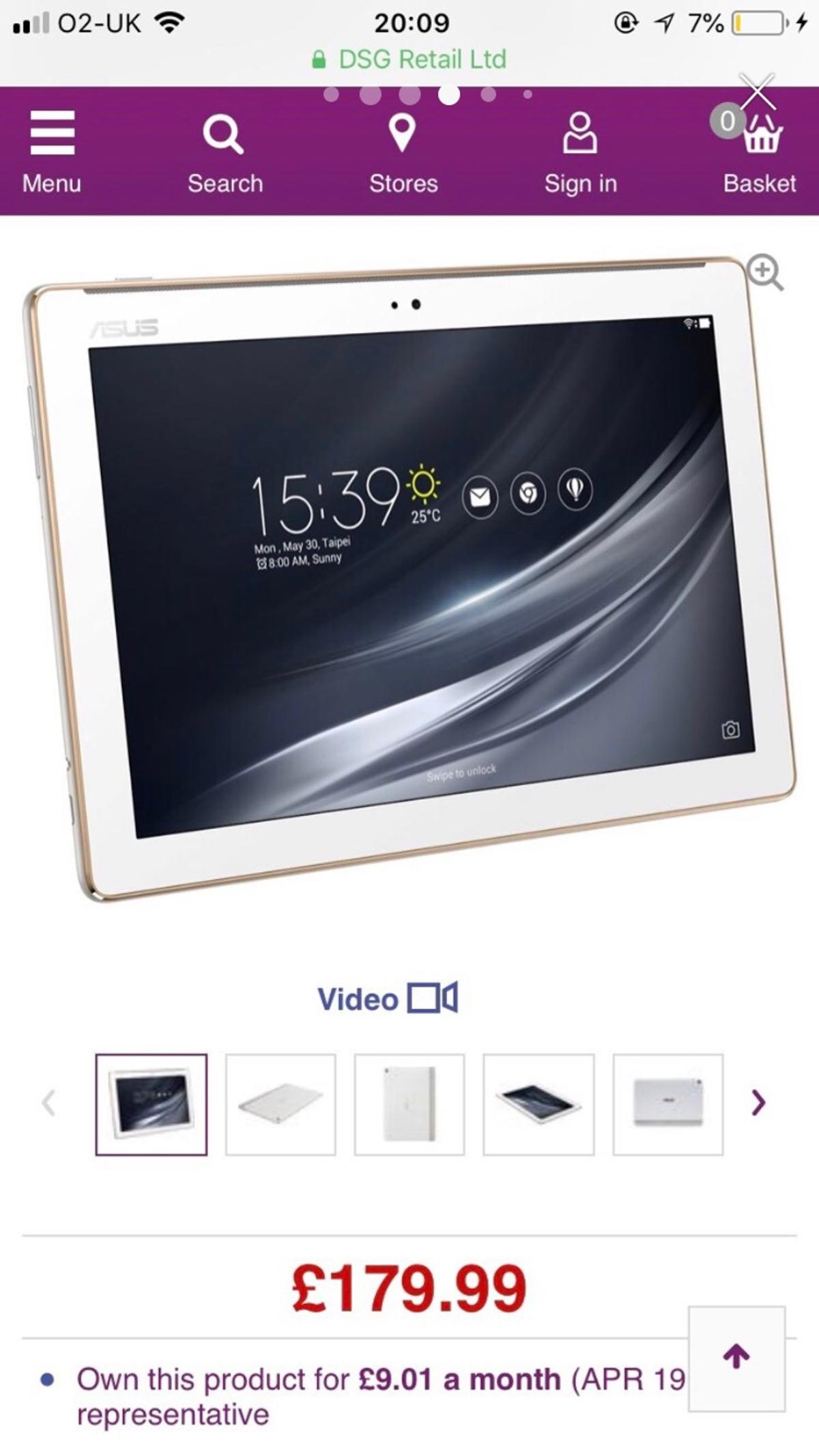 Asus zenpad 10 in Charnwood for £100 00 for sale - Shpock