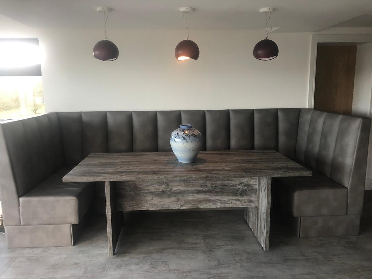 Booth Large Dining Table Seating