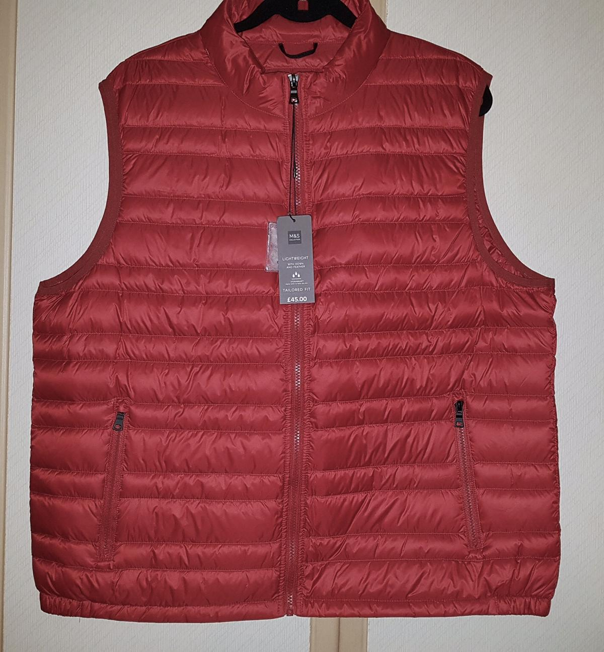 deebfa82f15 BNWT: M&S MENS DOWN & FEATHER GILET SIZE XL in Newcastle upon Tyne ...