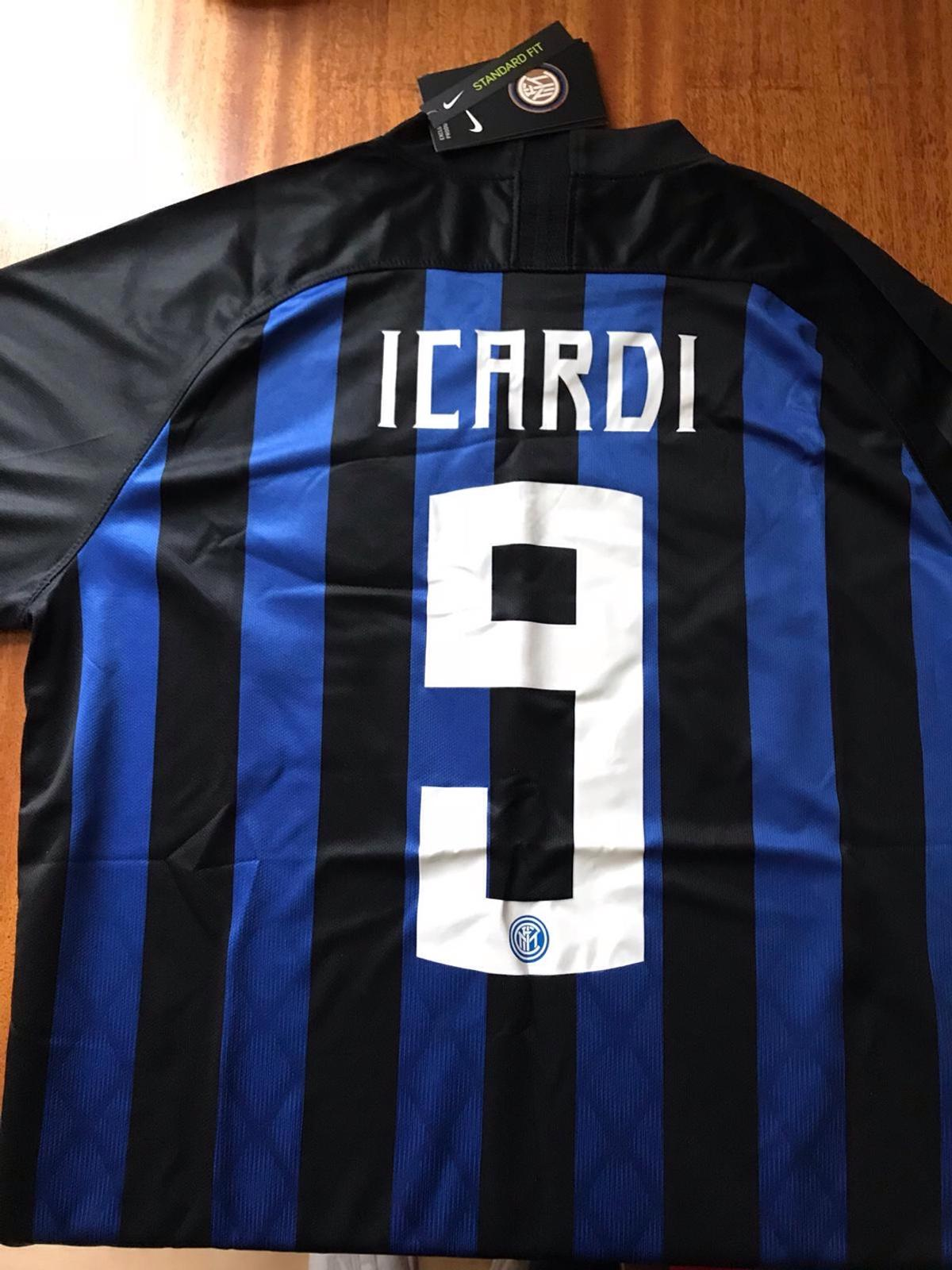 big sale 09f14 27364 Inter Milan Icardi 9 jersey Champion L.18/19 in TW1 London ...