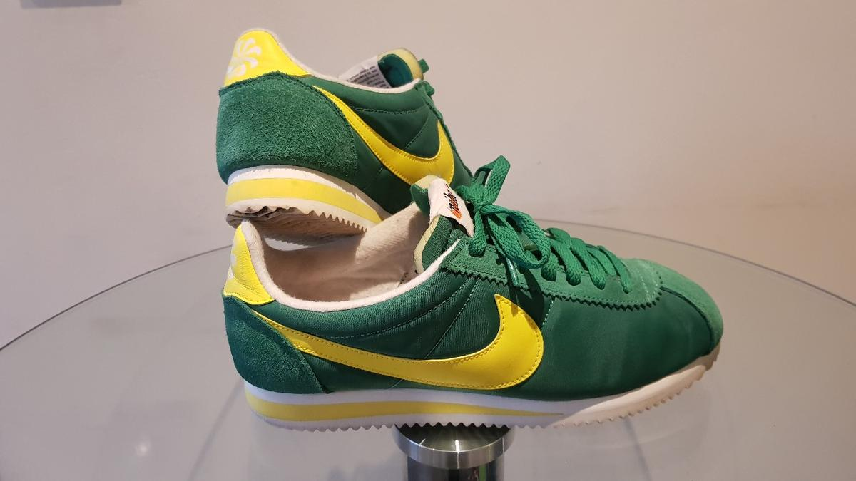 online retailer a1398 13af6 Nike Classic Cortez Green/Yellow/White UK 7 in B66 Sandwell ...