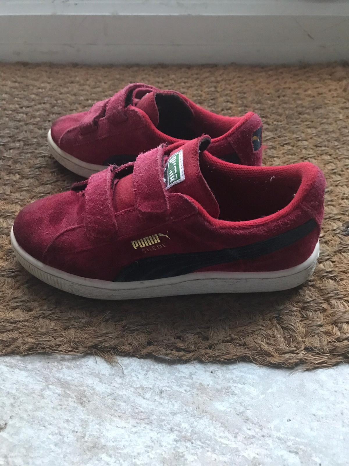 best service decb2 7b644 Junior Puma Suede Trainers