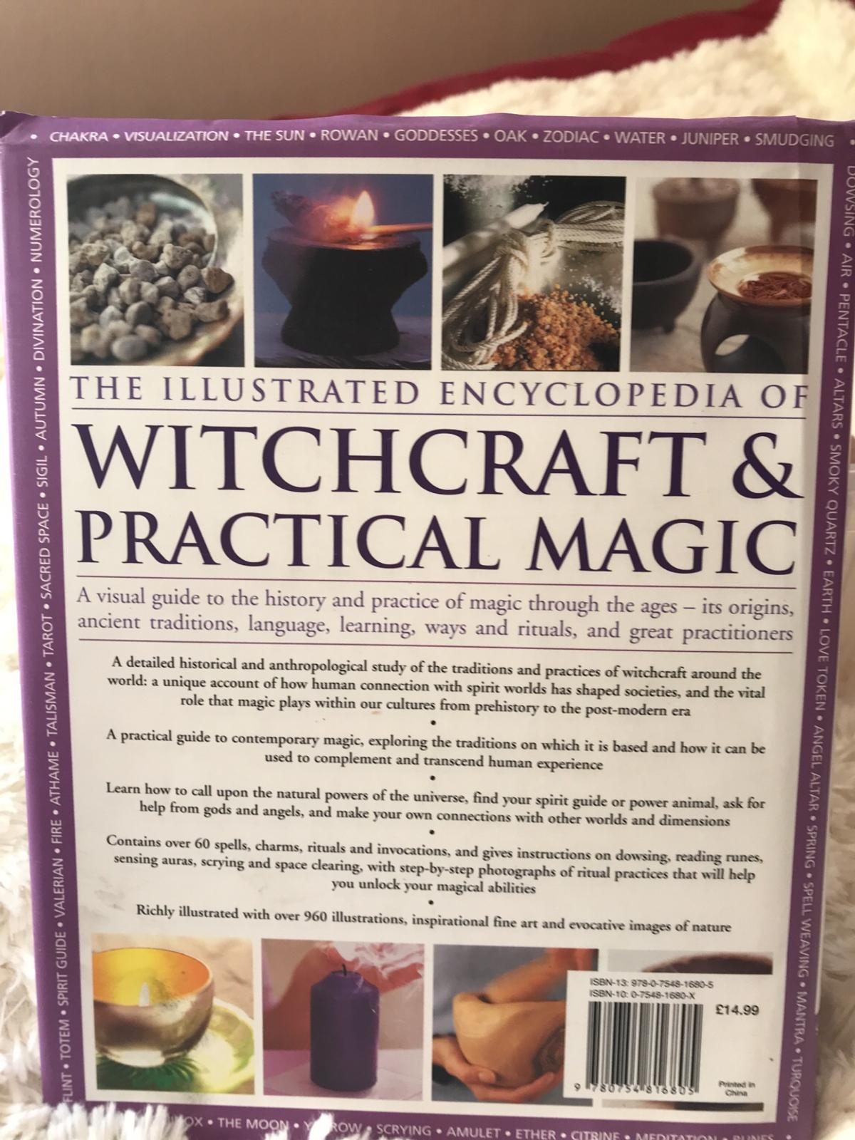 Witchcraft and practical magic book