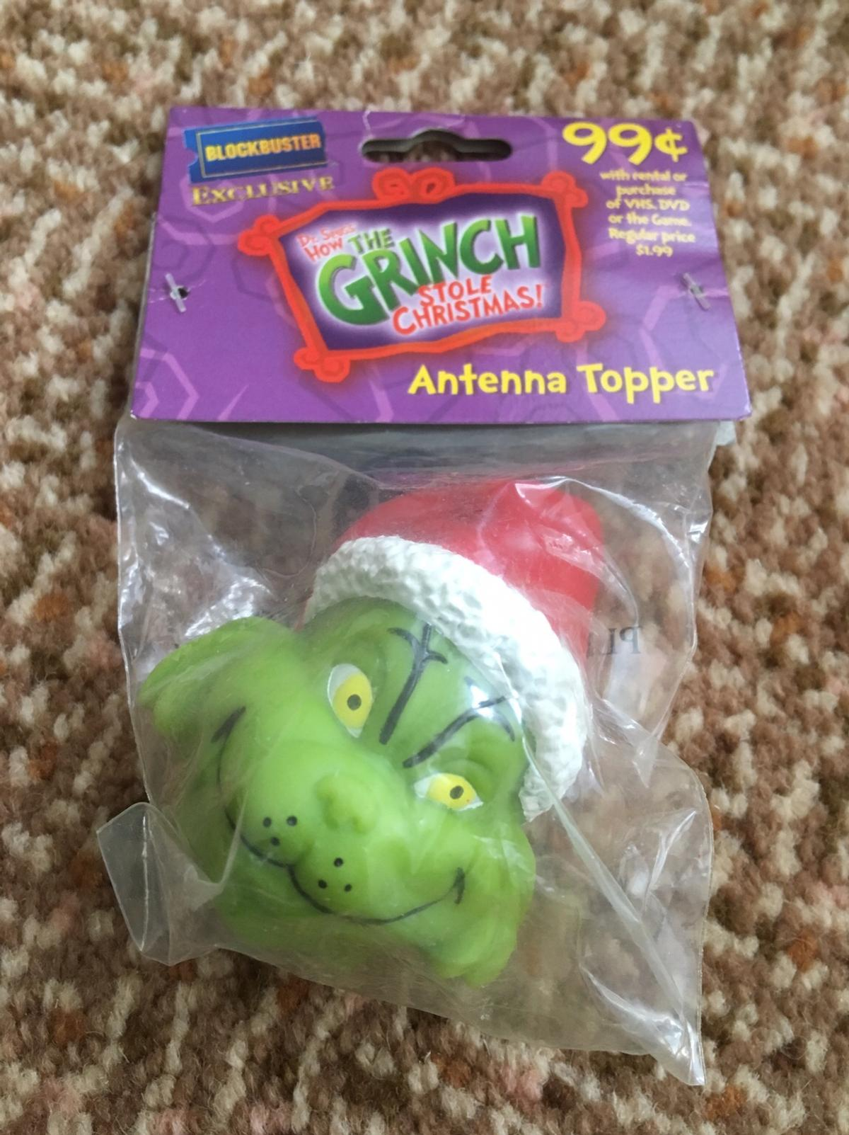 Very Rare The Grinch Christmas Antenna Topper In Fy2 Bispham For