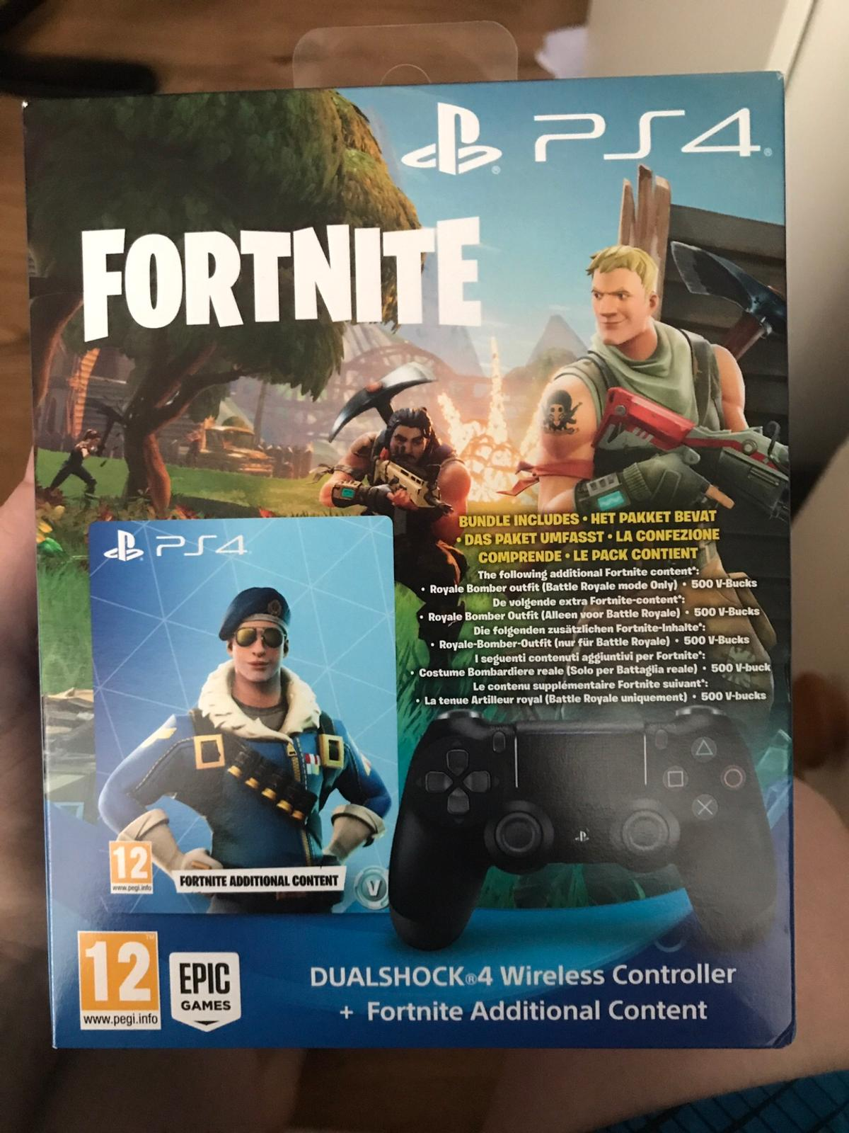 Ps4 Controller And Fortnite Bundle